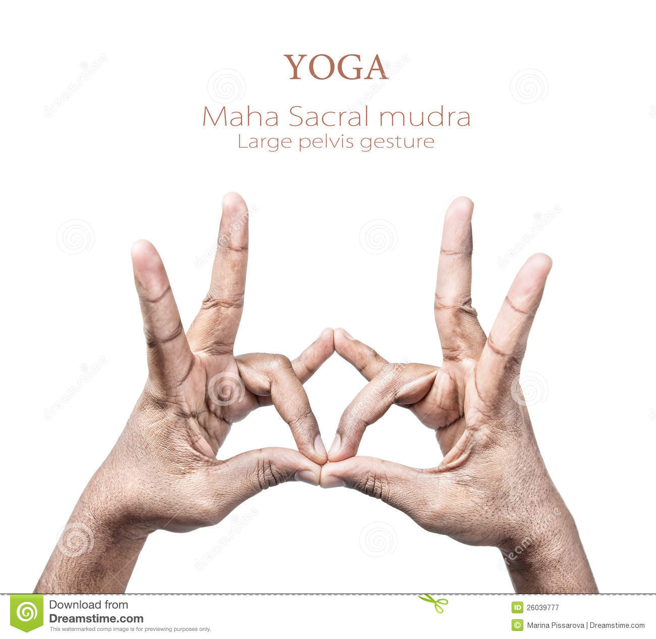 Mudra Hand Gesture Royalty Free Stock Photography - Image: 26039777