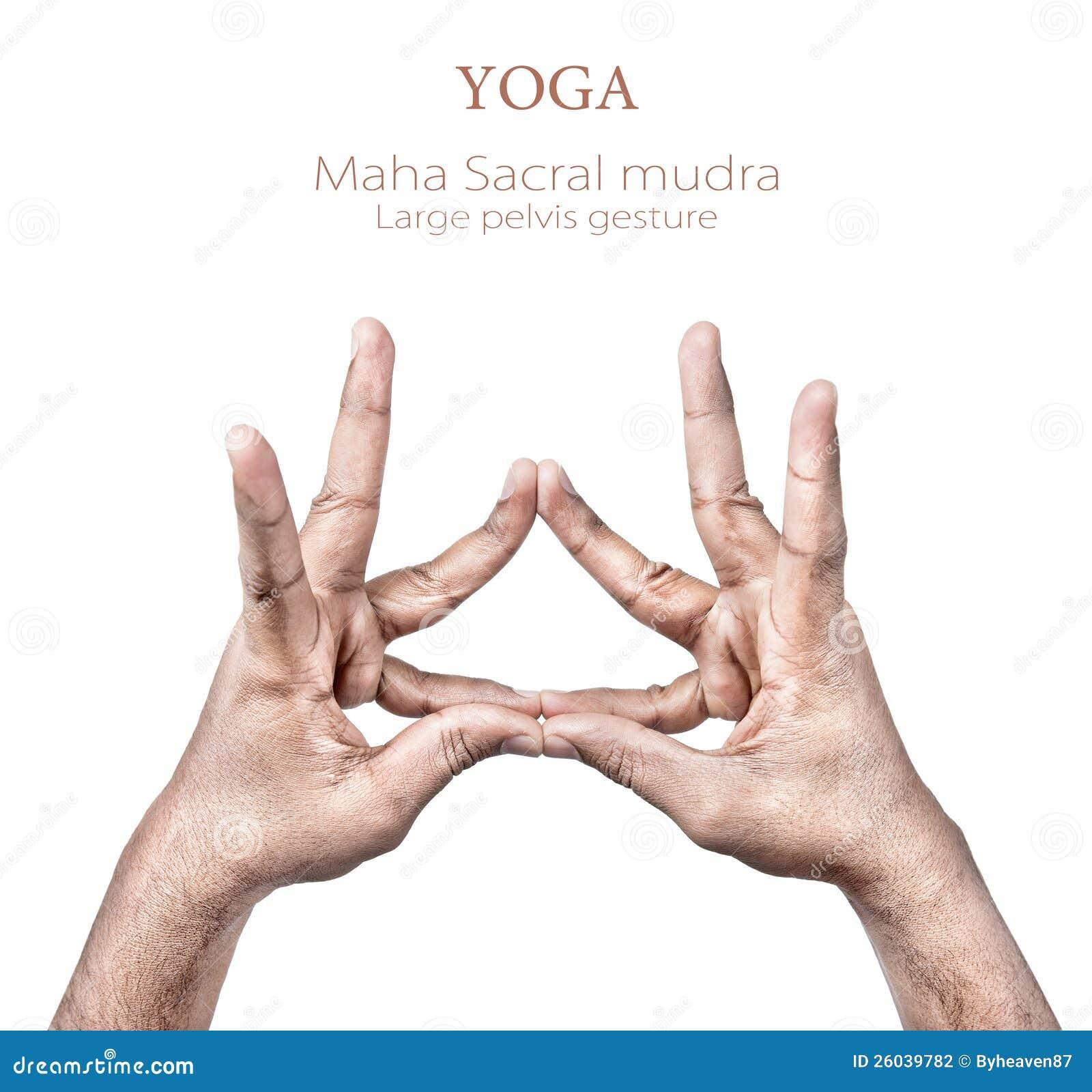 Mudra Hand Gesture Stock Photography - Image: 26039782