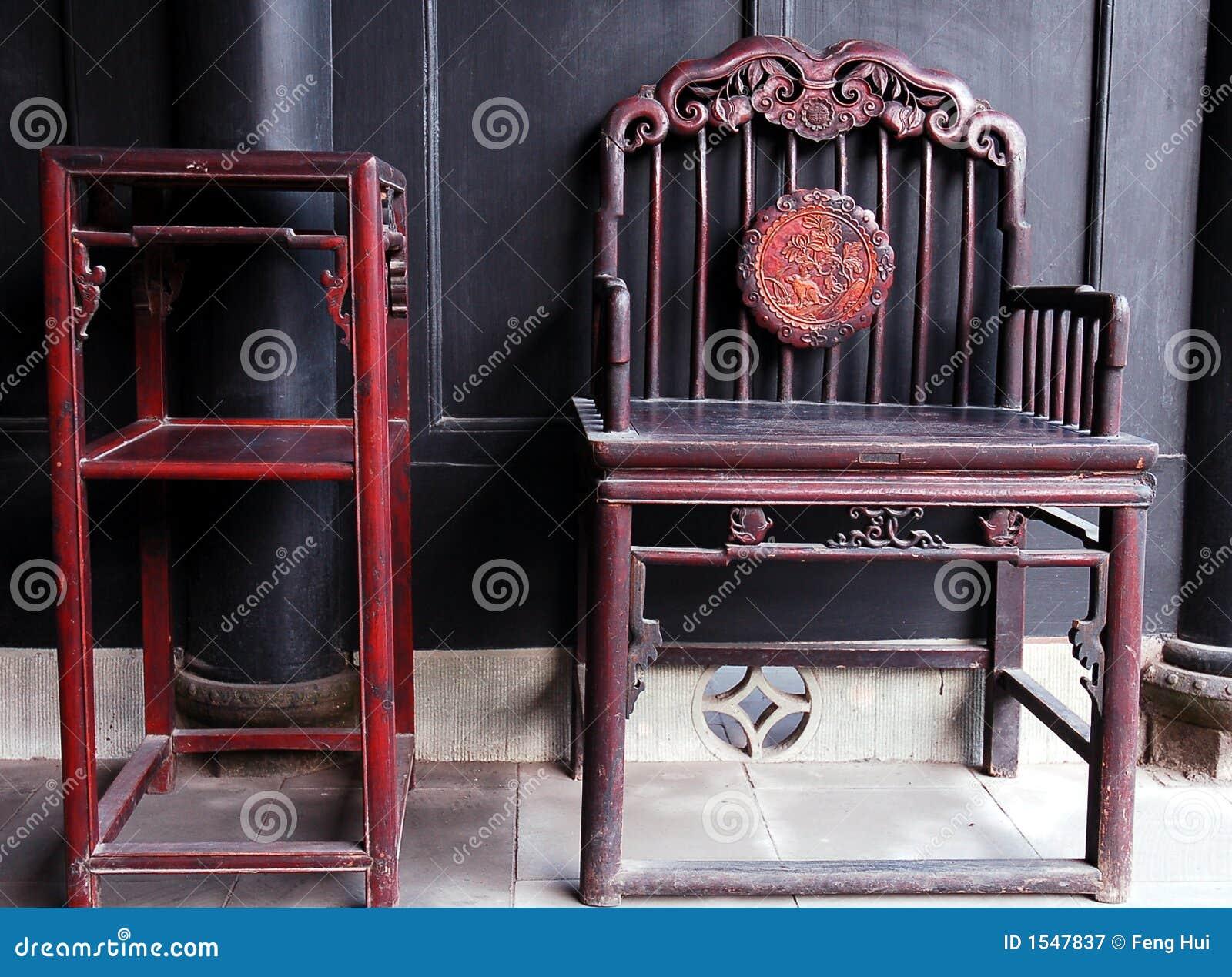 Muebles antiguos chinos fotograf a de archivo libre de for Muebles chinos