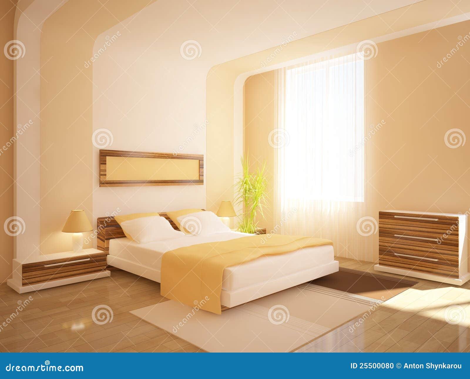 Muebles blancos del dormitorio foto de archivo imagen - Dormitorios muebles blancos ...