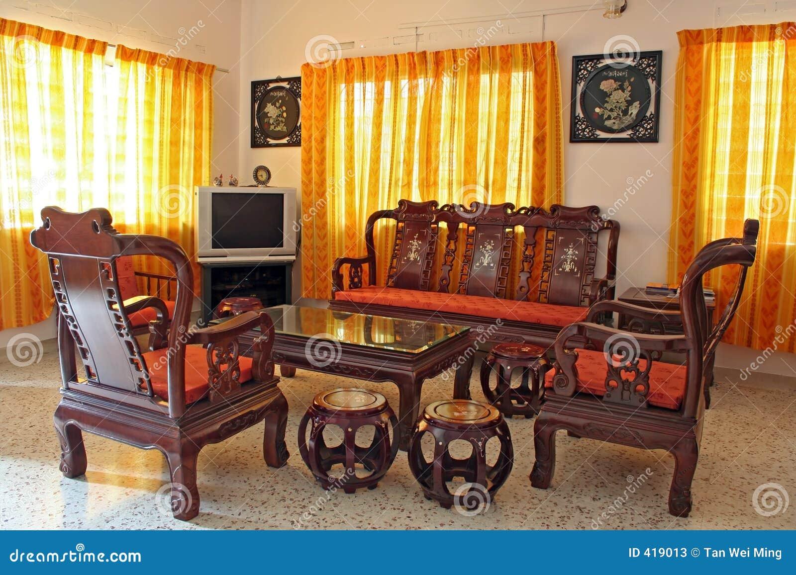 Muebles chinos antiguos del palo de rosa fotos de archivo for Muebles lacados chinos
