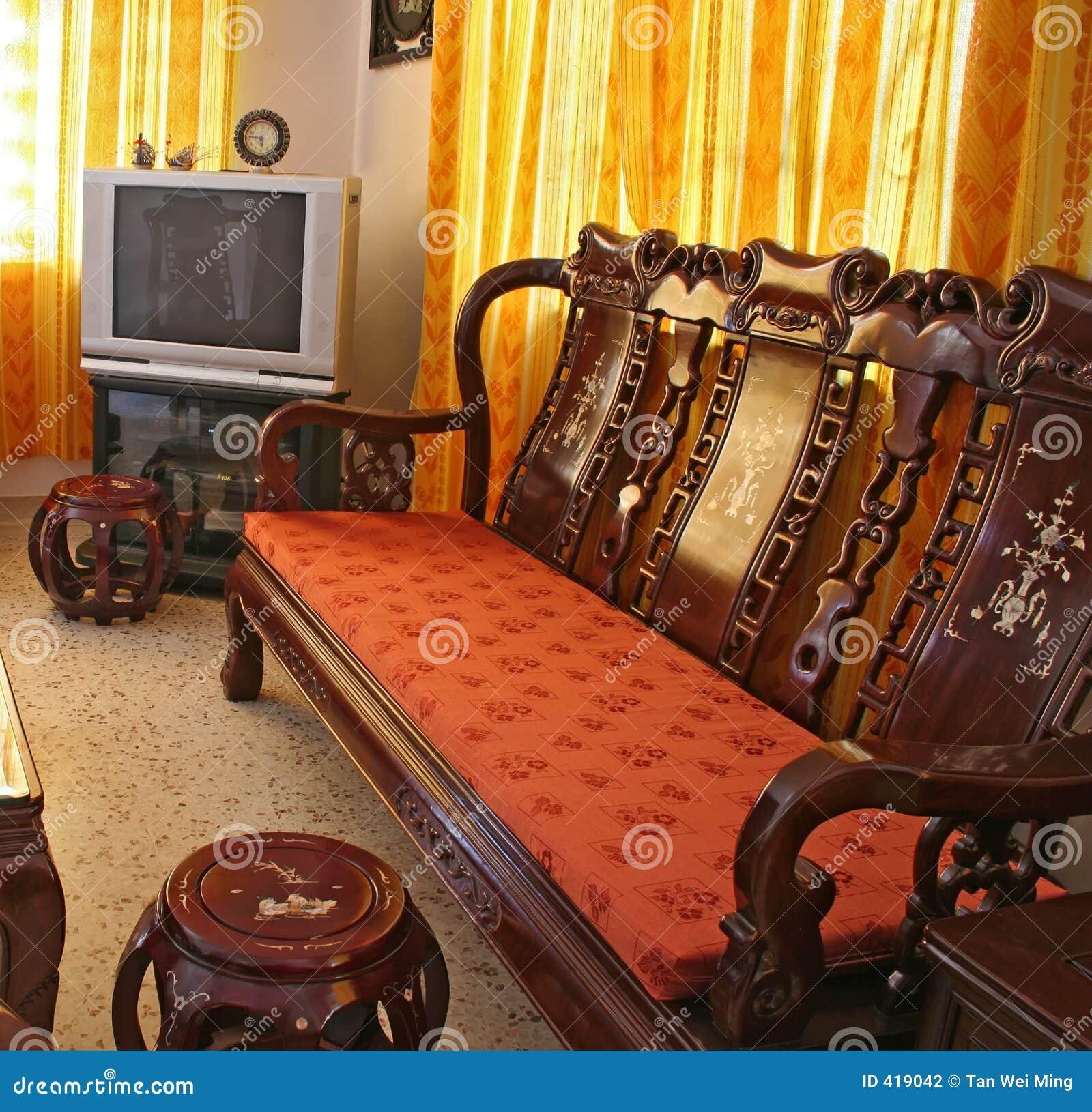 Muebles Chinos Antiguos Del Palo De Rosa Foto de archivo - Imagen de ...