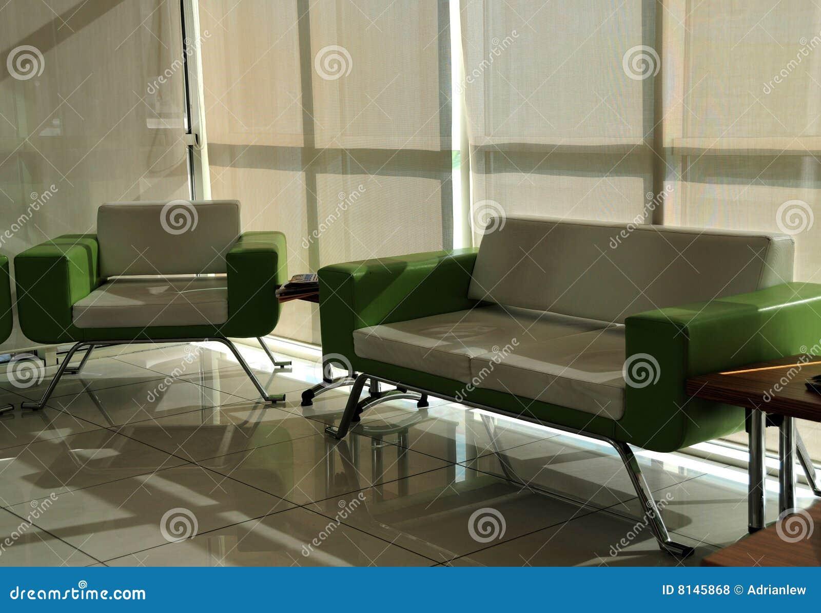 Muebles De La Sala De Espera Foto De Archivo Imagen 8145868 # Muebles De Sala