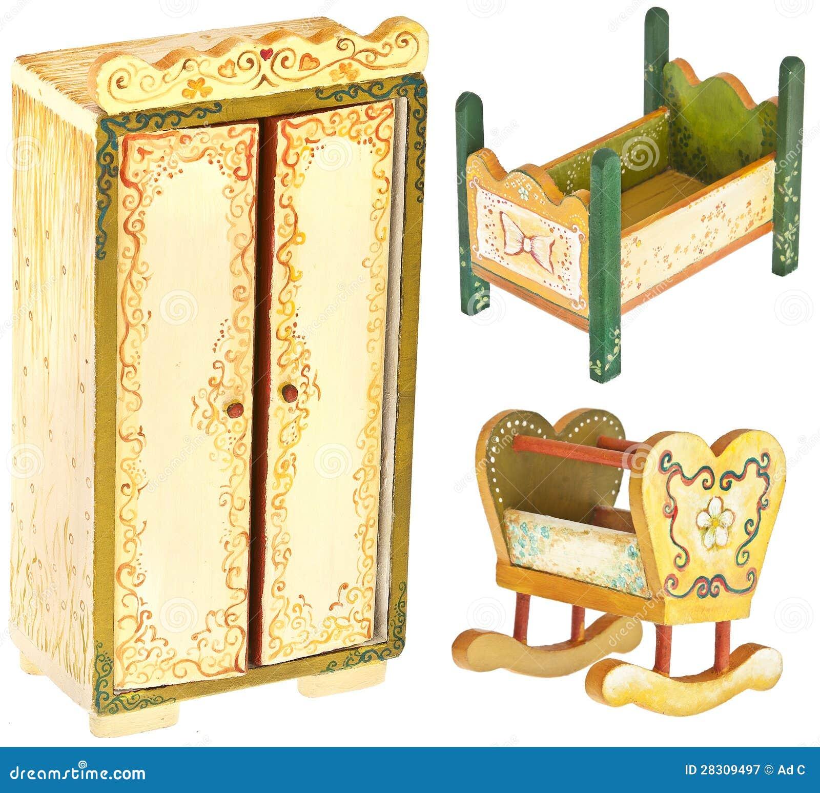 Muebles de madera pintados a mano del dormitorio - Armarios pintados a mano ...
