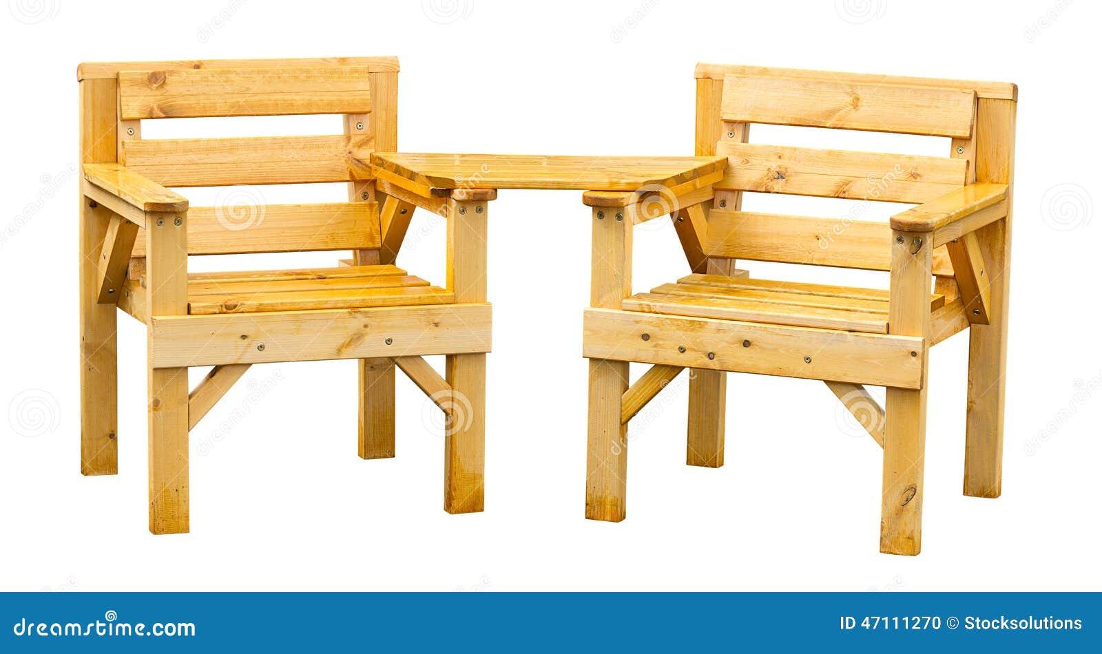 Muebles De Madera Suaves Del Jard N Foto De Archivo Imagen De  # Muebles Rumanos