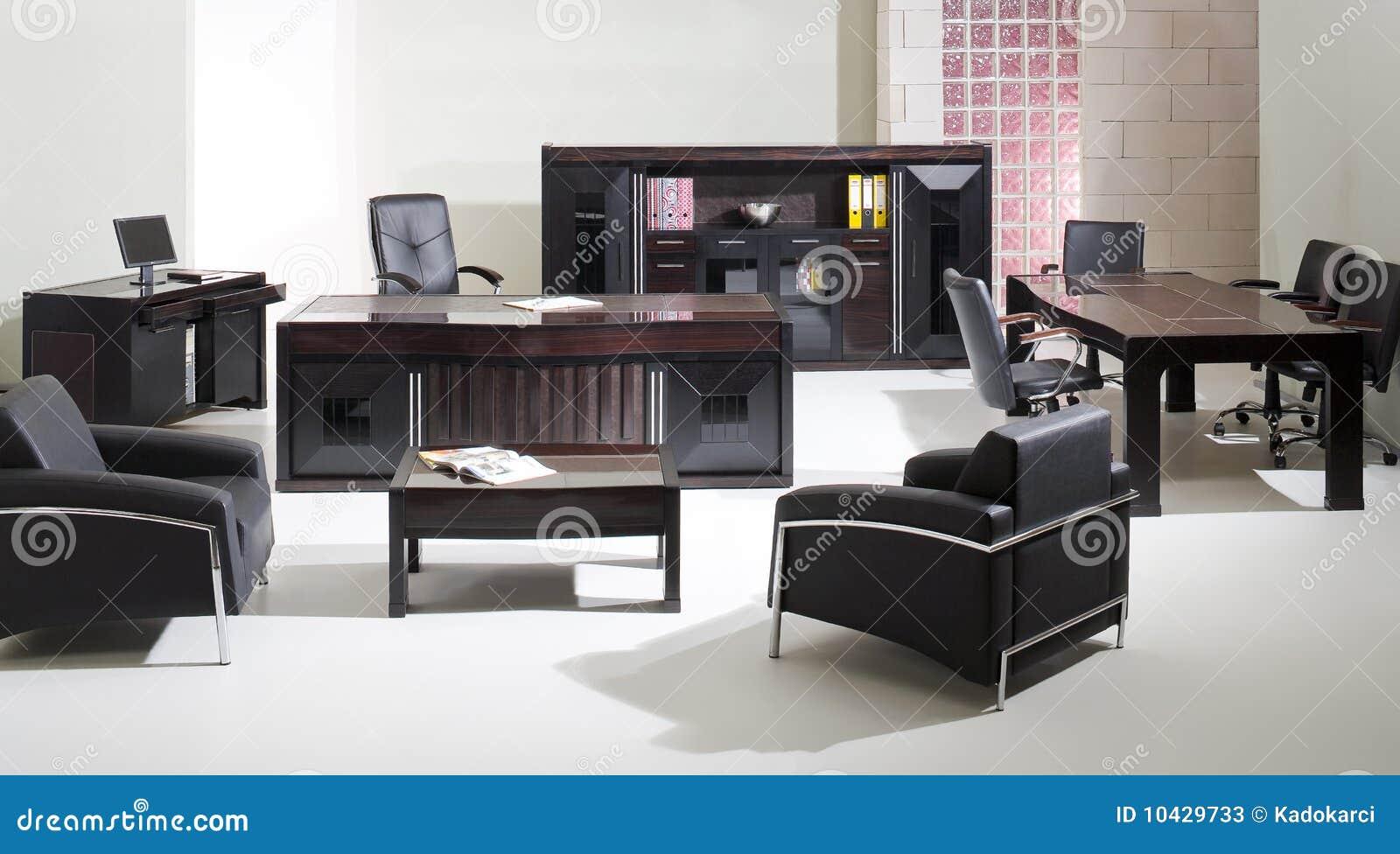 Muebles de oficinas fotos de archivo imagen 10429733 for Muebles de oficina blancos