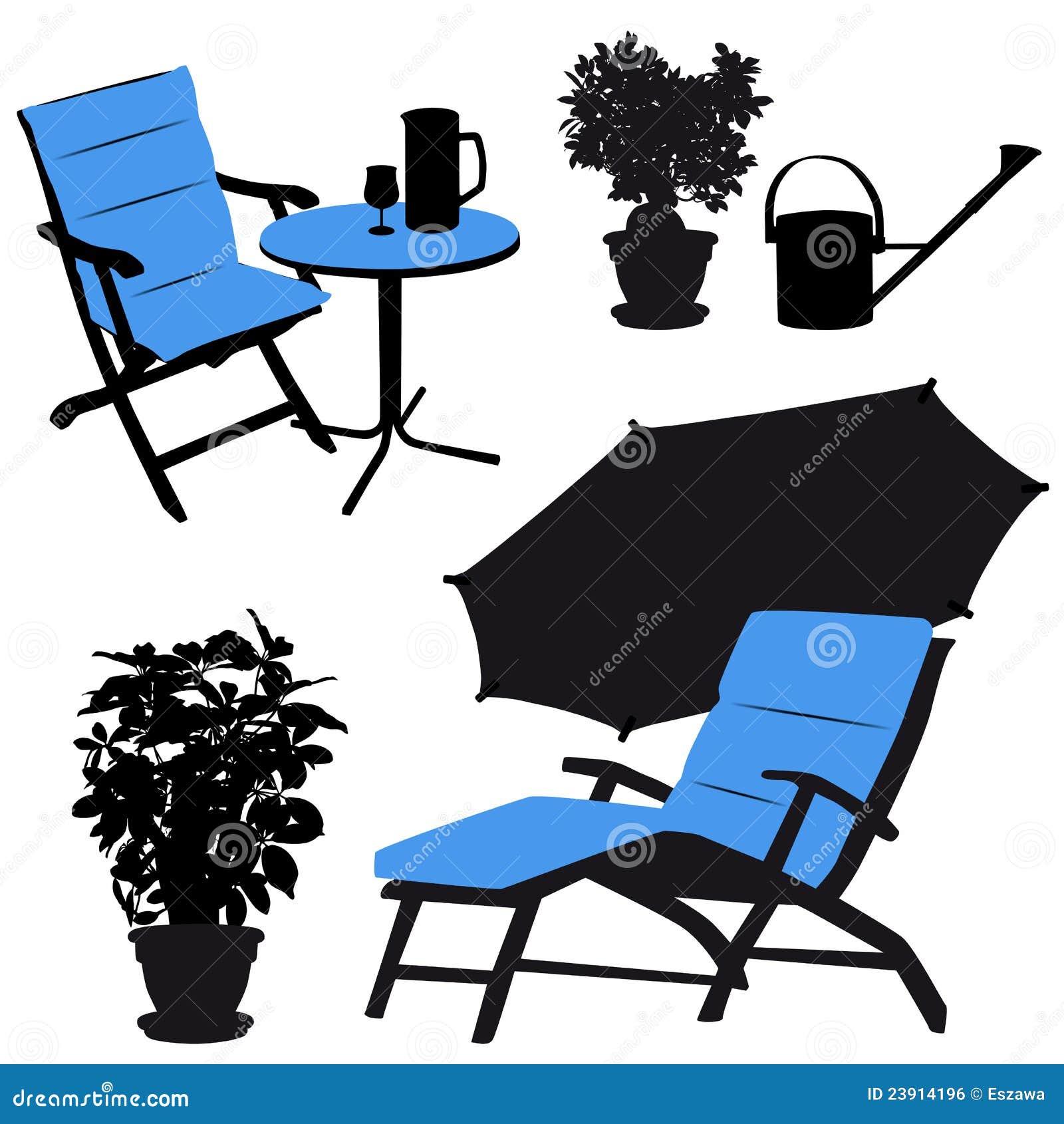 free clip art patio furniture - photo #22