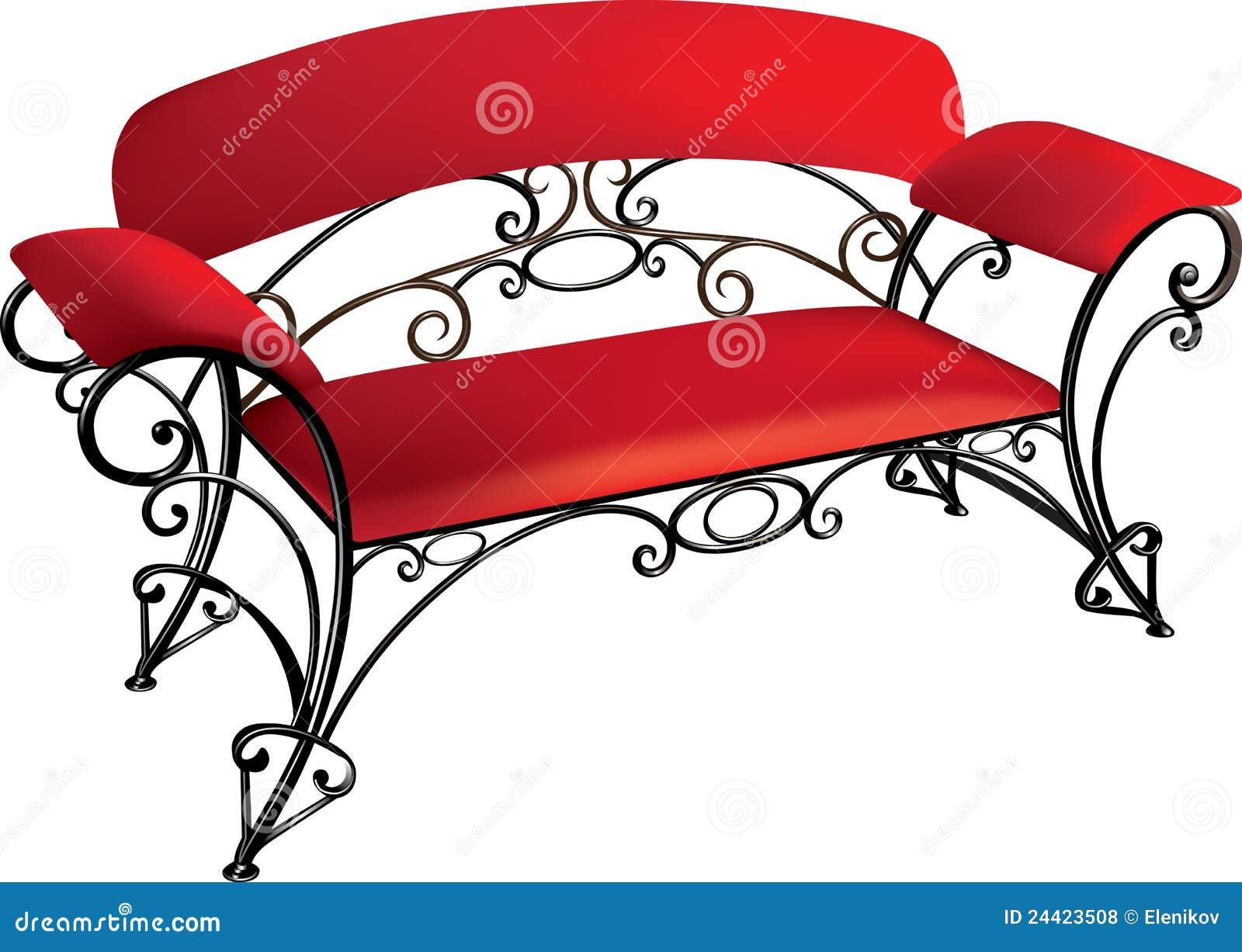 Muebles Del Labrado Hierro Ilustraci N Del Vector Ilustraci N De  # Muebles Cultivados