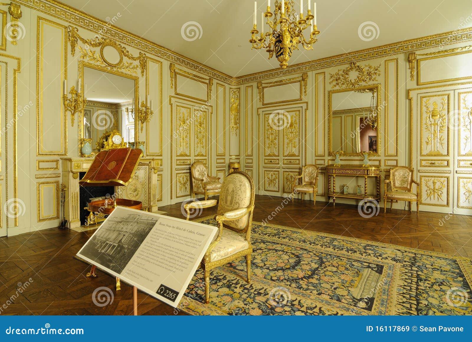 Muebles franceses del hotel imagen de archivo editorial for Muebles franceses