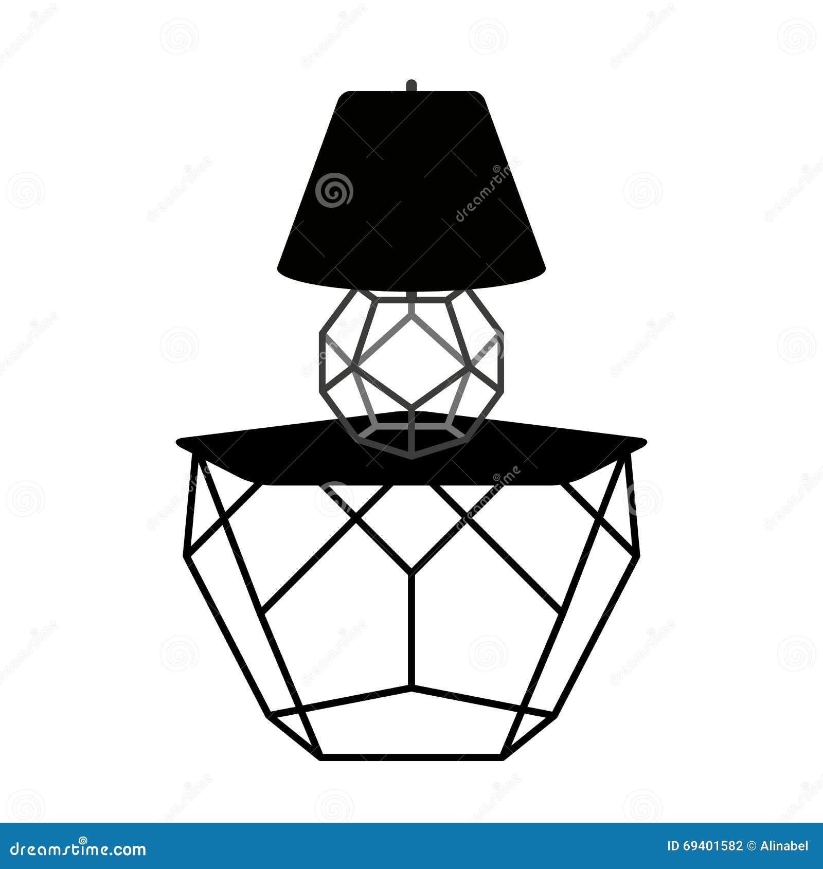 Muebles Geom Tricos Modernos Ilustraci N Del Vector Ilustraci N  # Muebles Geometricos