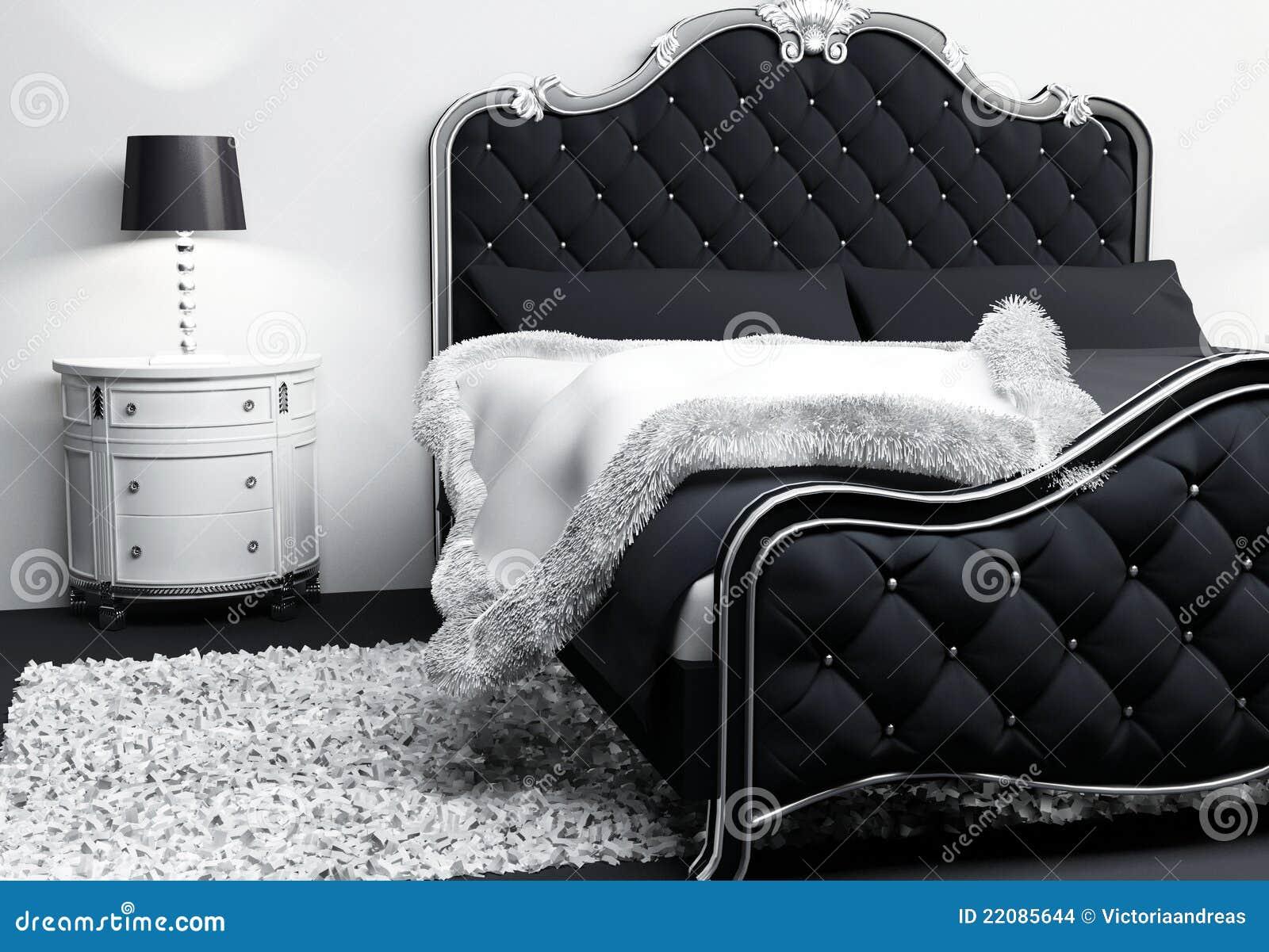 Muebles Lujosos En Interior Del Dormitorio Stock De Ilustraci N  # Muebles Lujosos Y Modernos
