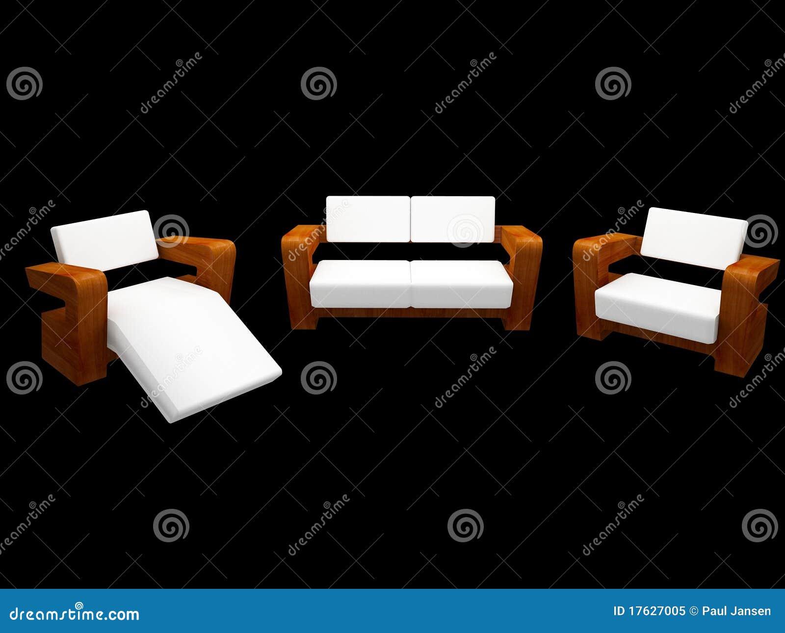 Muebles modernos stock de ilustraci n ilustraci n de for Stock de muebles