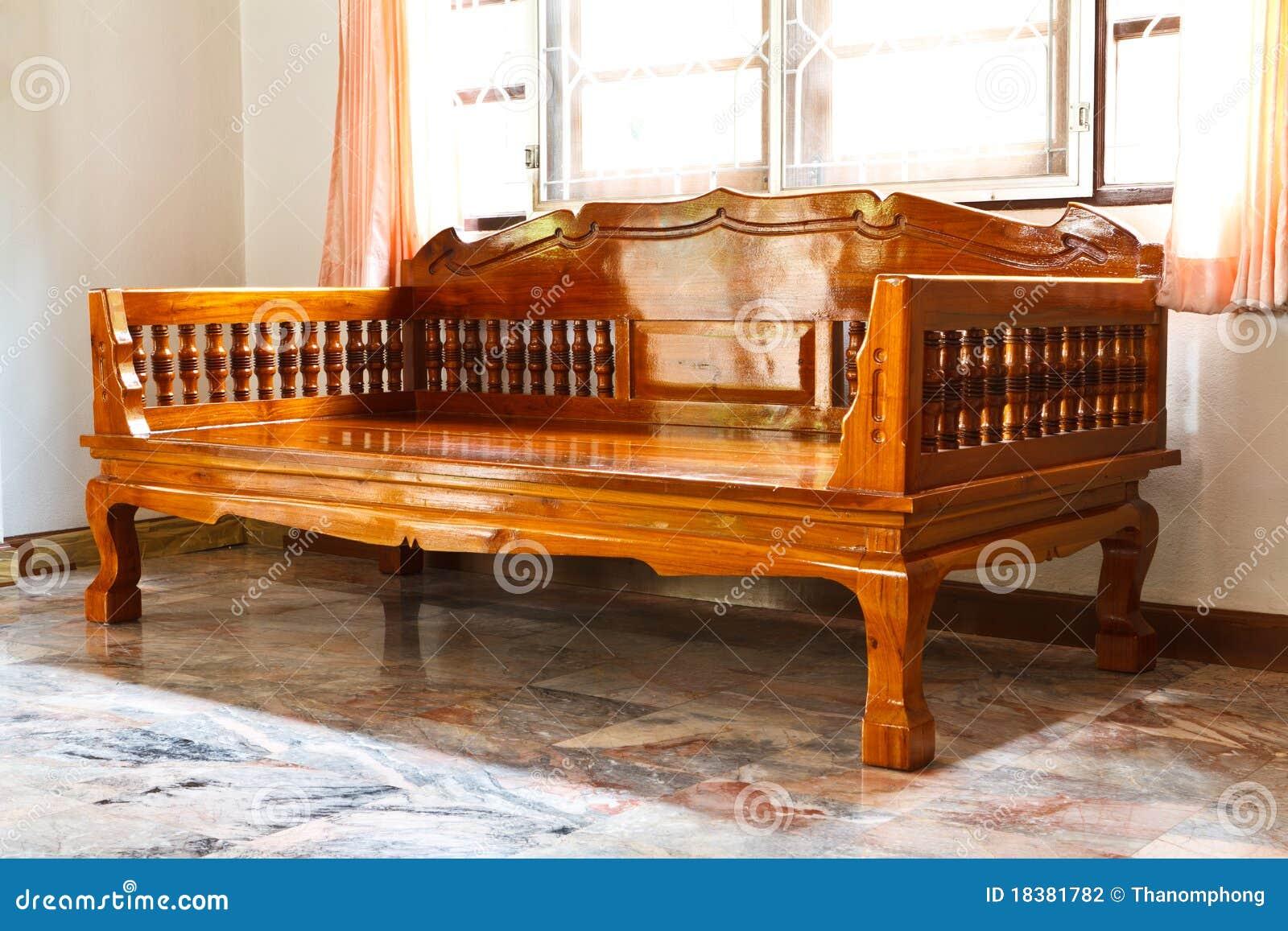 Muebles modernos de madera foto de archivo Imagen de sueo 18381782