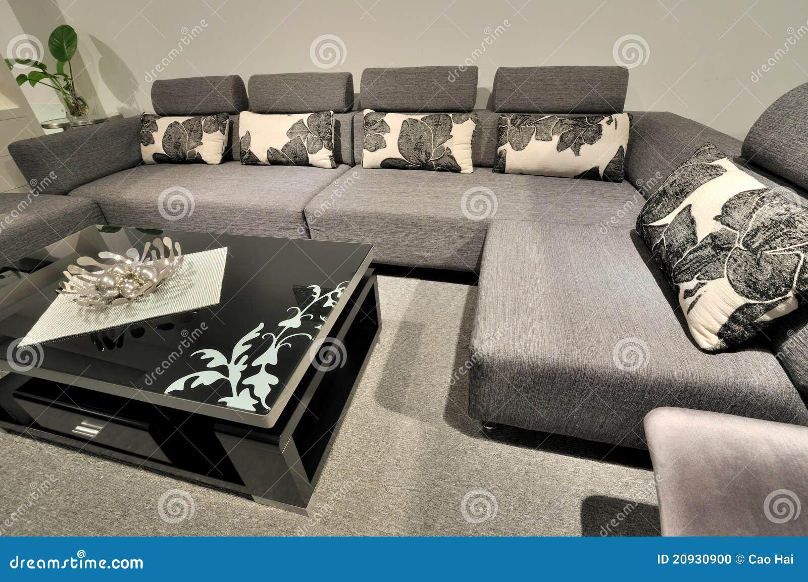 Muebles modernos del estilo en blanco y negro foto de for Muebles estilo isabelino moderno