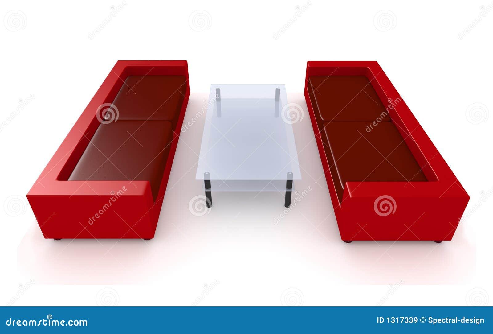 Muebles rojos 1 de la sala de estar im genes de archivo for Muebles de sala rojos