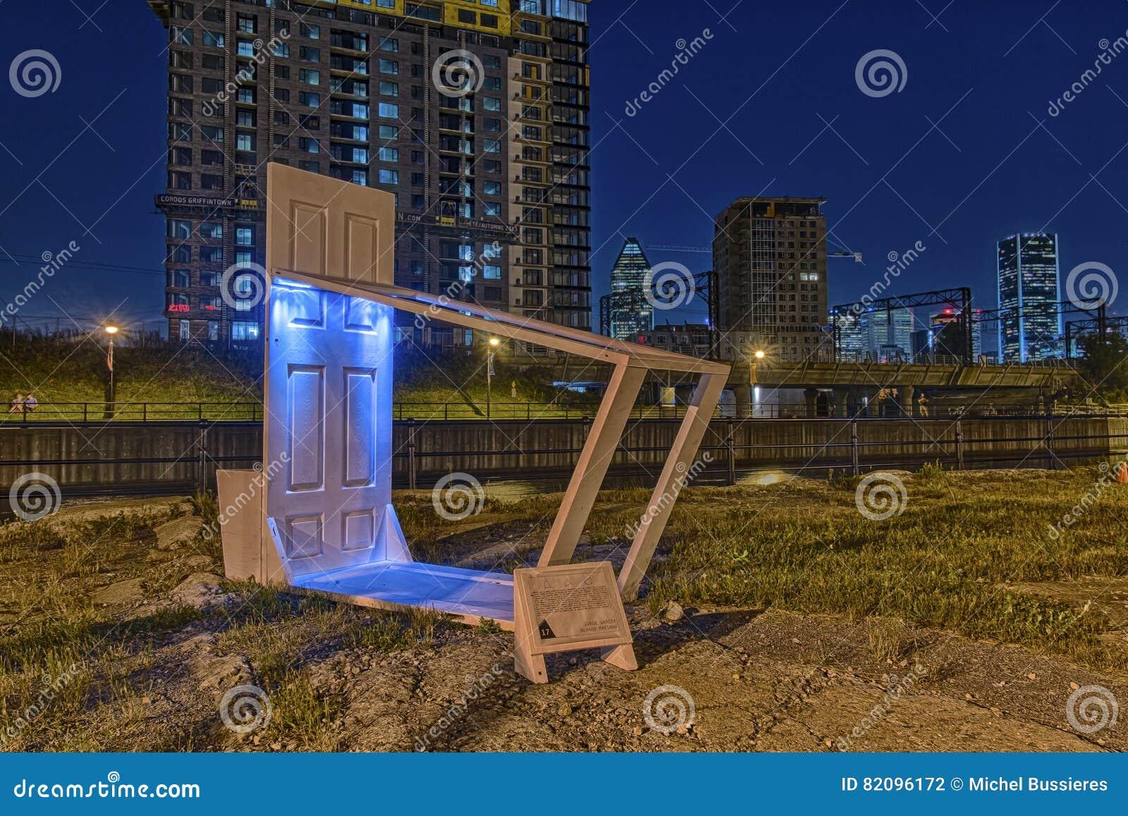 Muebles urbanos temporales
