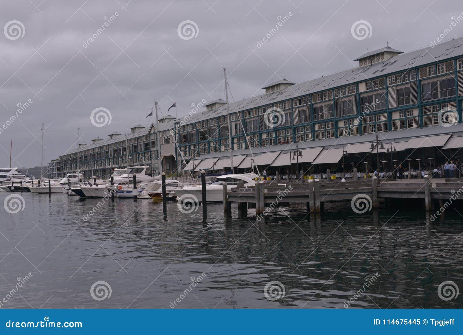 Muelle de Wooloomooloo, Sydney, Australia