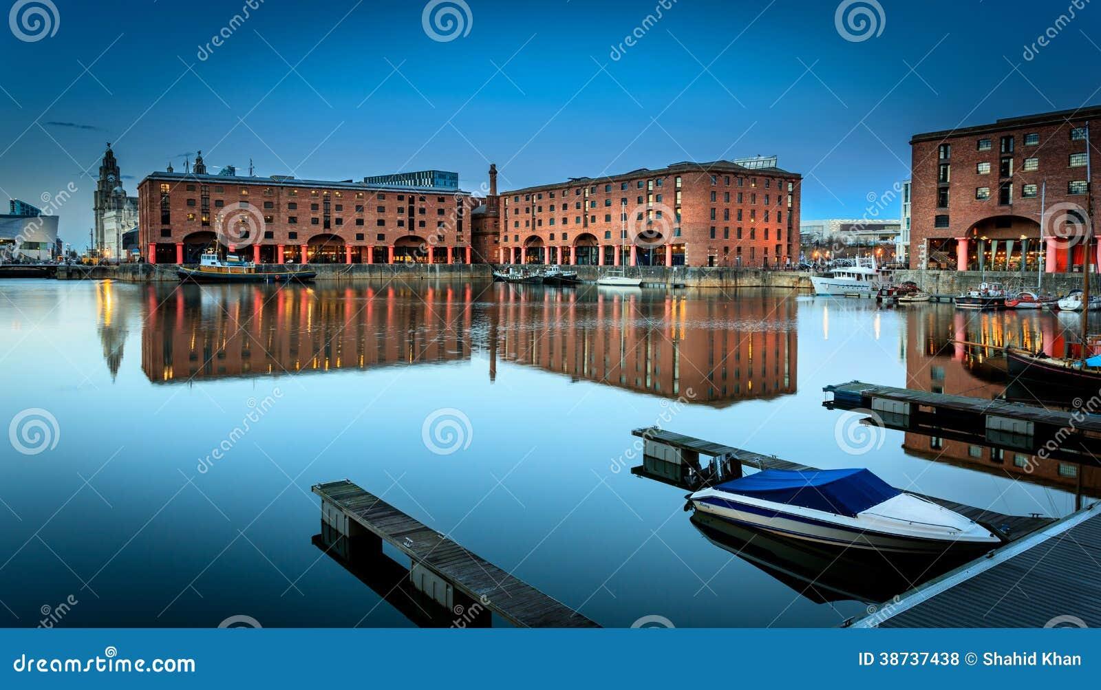 Muelle Liverpool de Albert