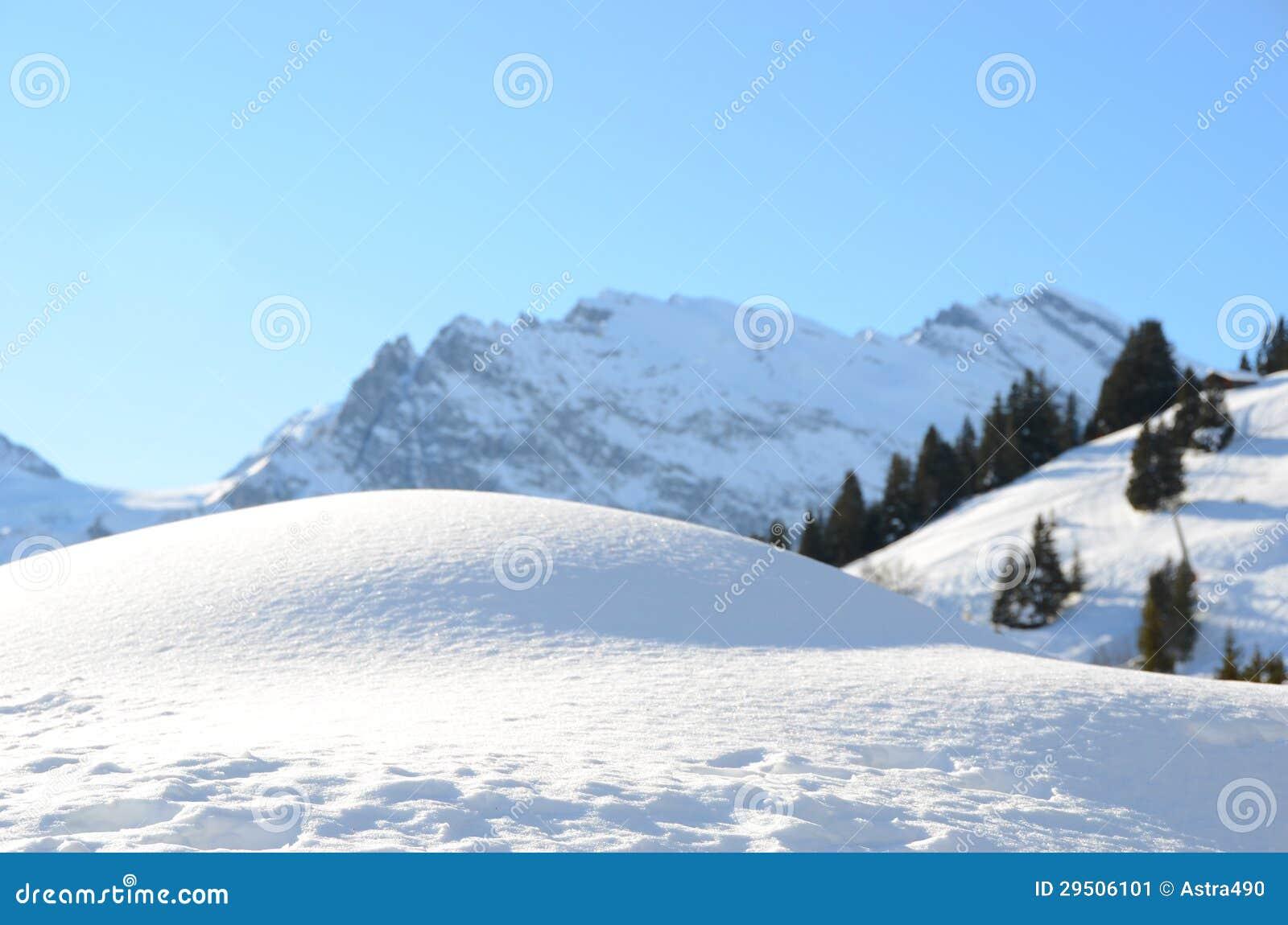 Muerren, Zwitserse het ski?en toevlucht
