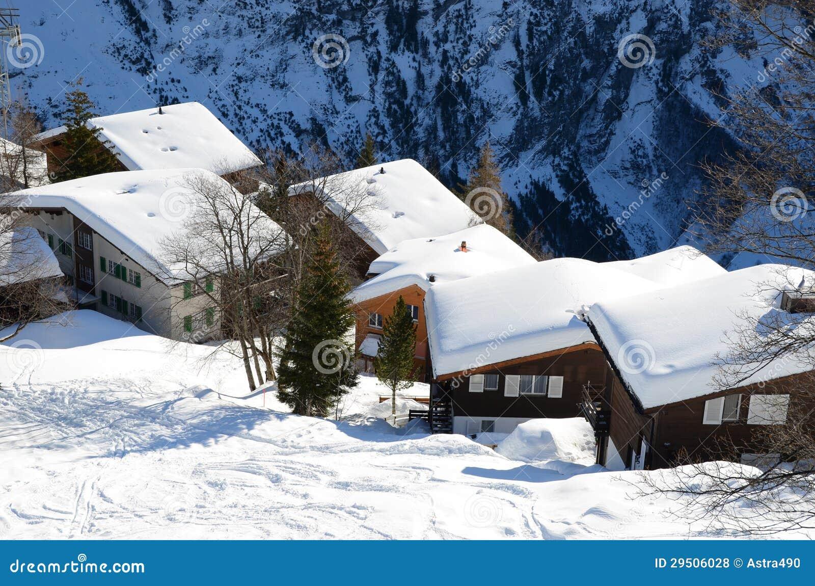 Muerren, Zwitserse toevlucht