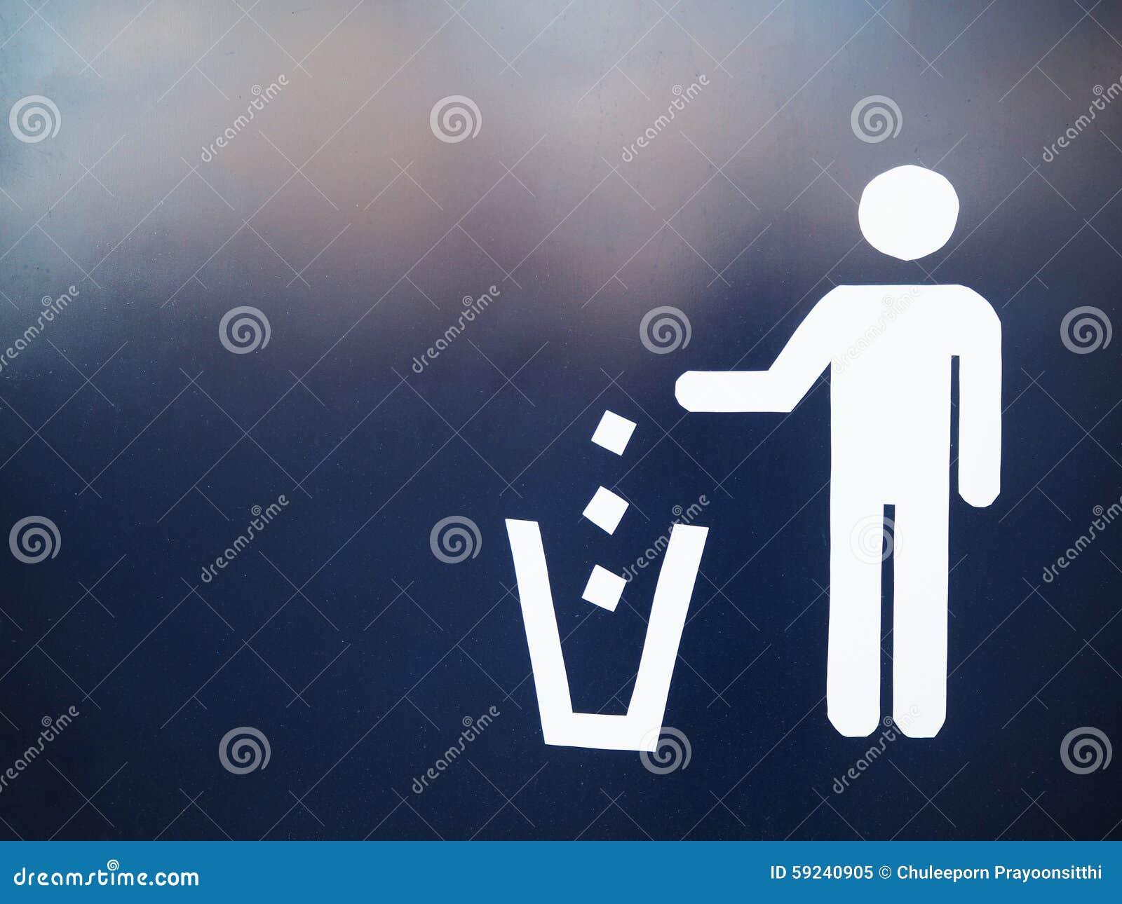 Muestra de la basura