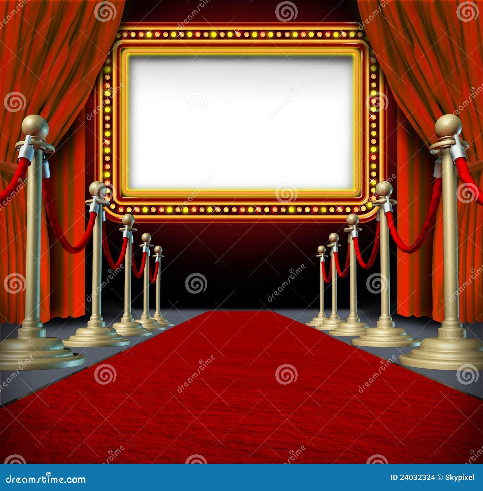 Muestra de la carpa de la película