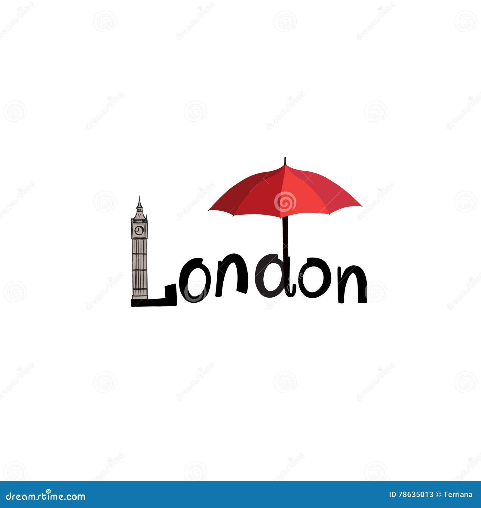 Muestra De La Ciudad De Londres: El Poner Letras, Británicos Levanta ...