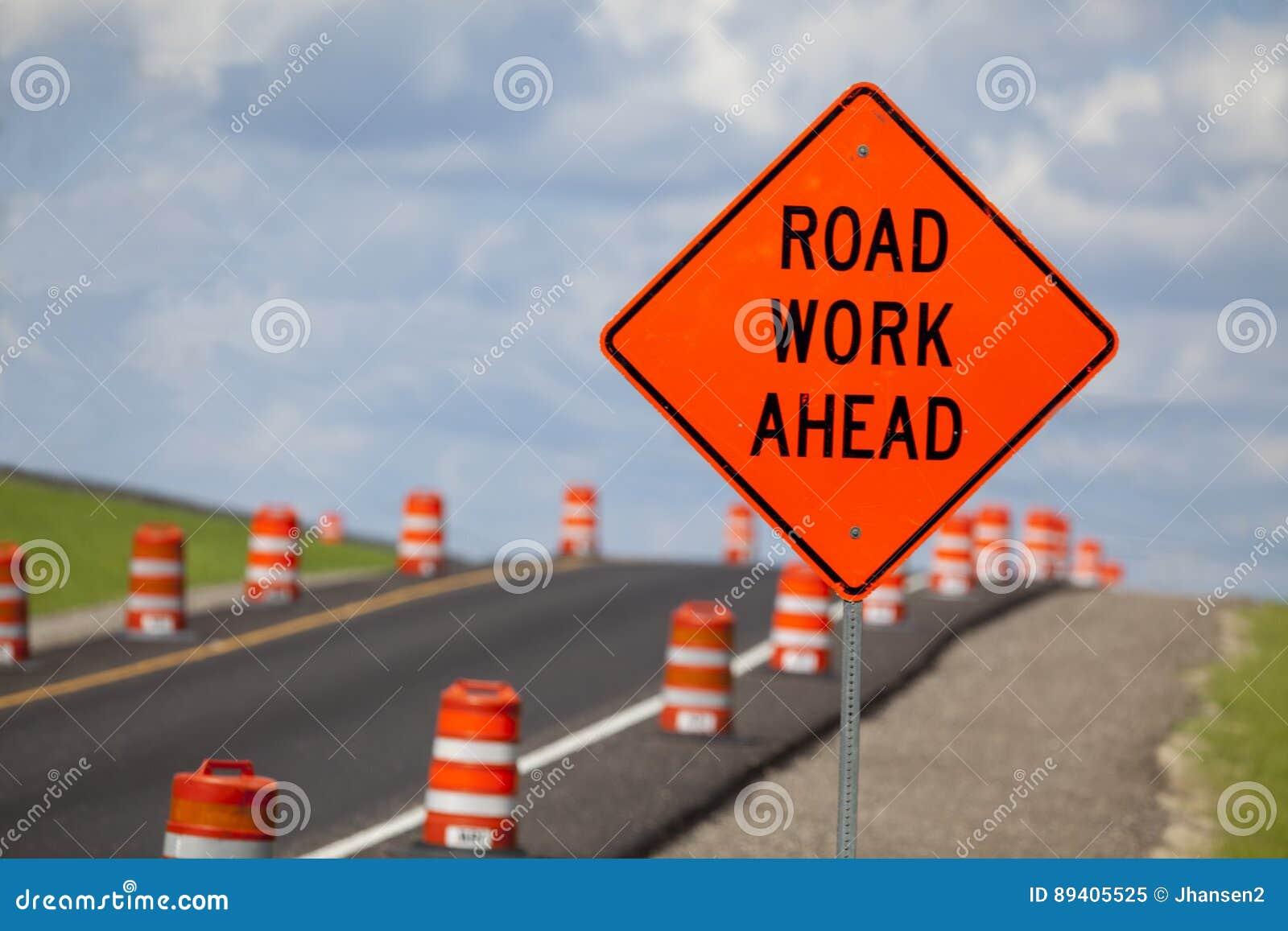 Muestra de la construcción de carreteras