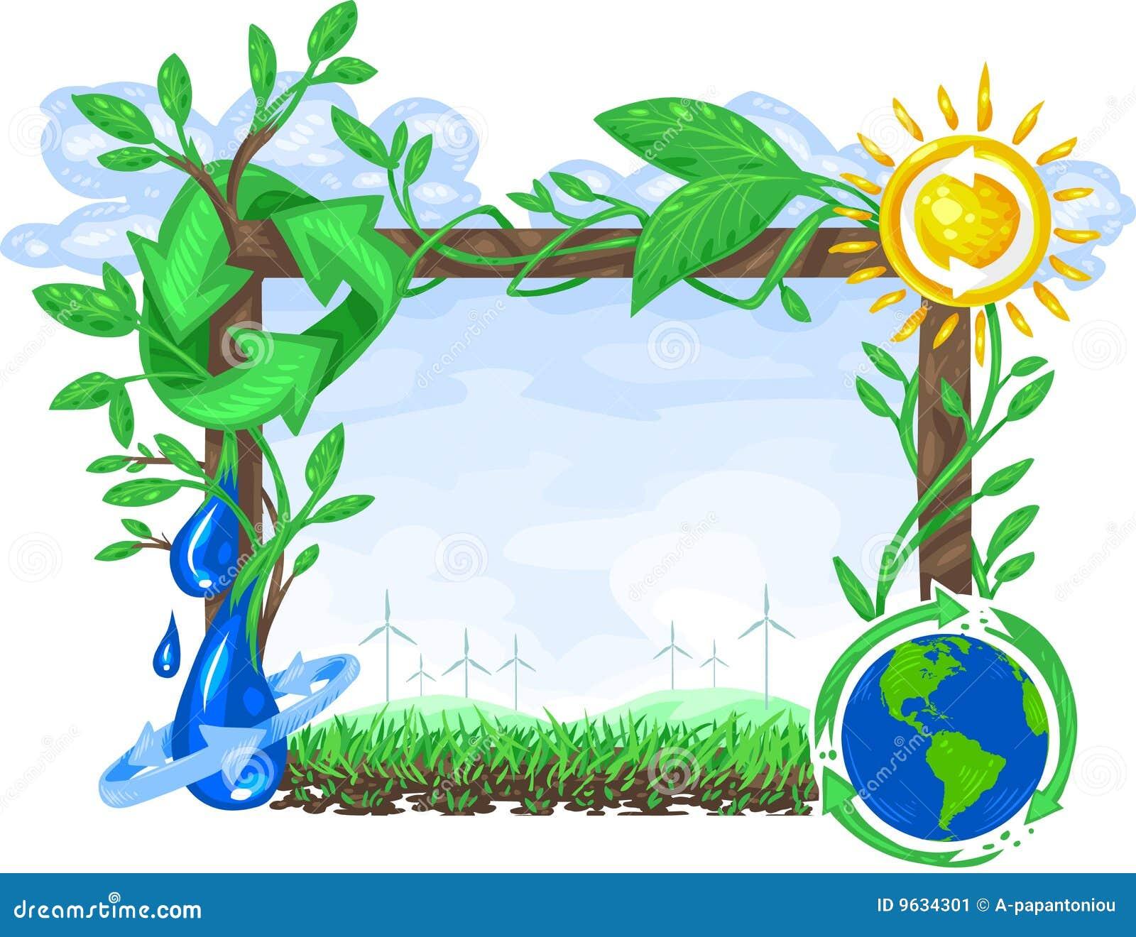 Muestra de la ecología