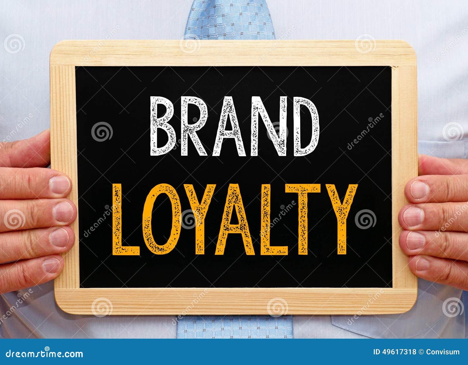 Muestra de la fidelidad a la marca