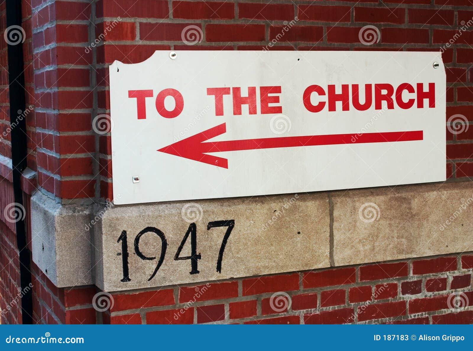 Muestra de la iglesia