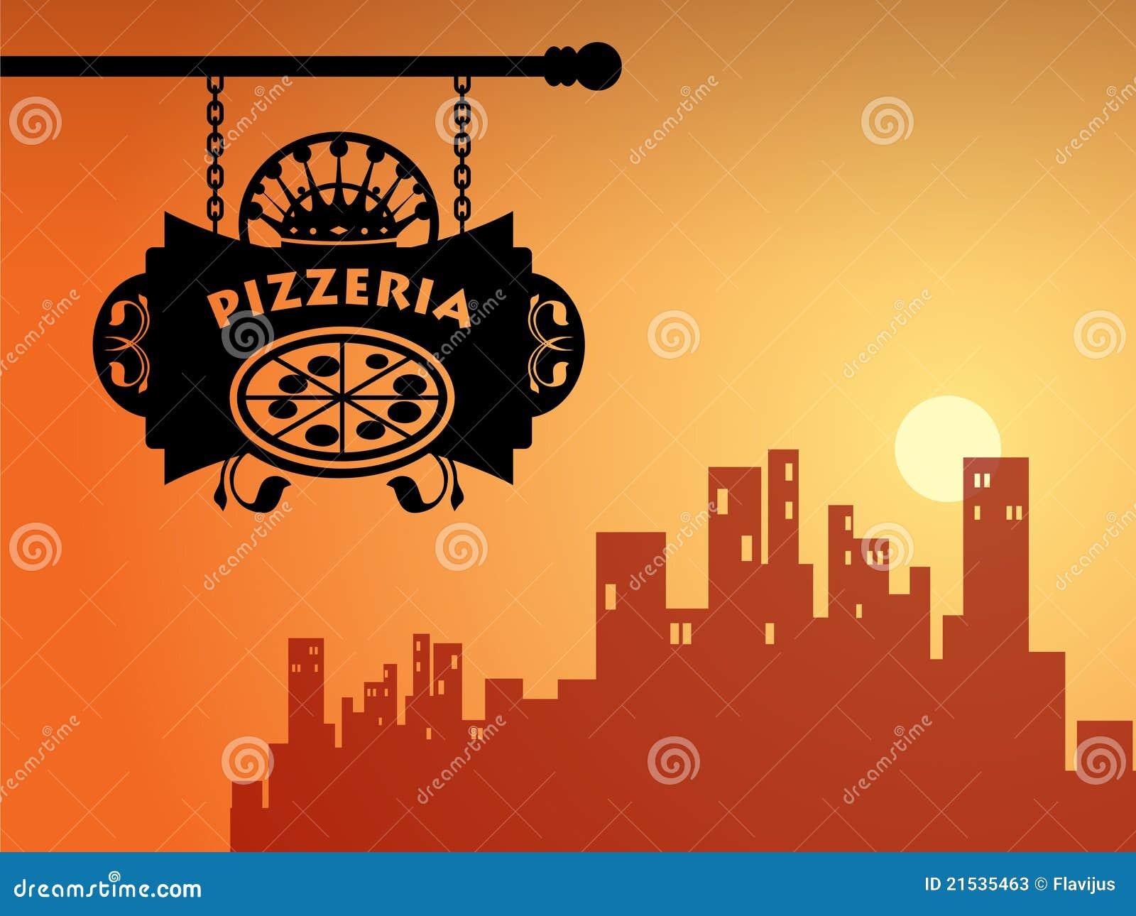 Muestra de la pizzería
