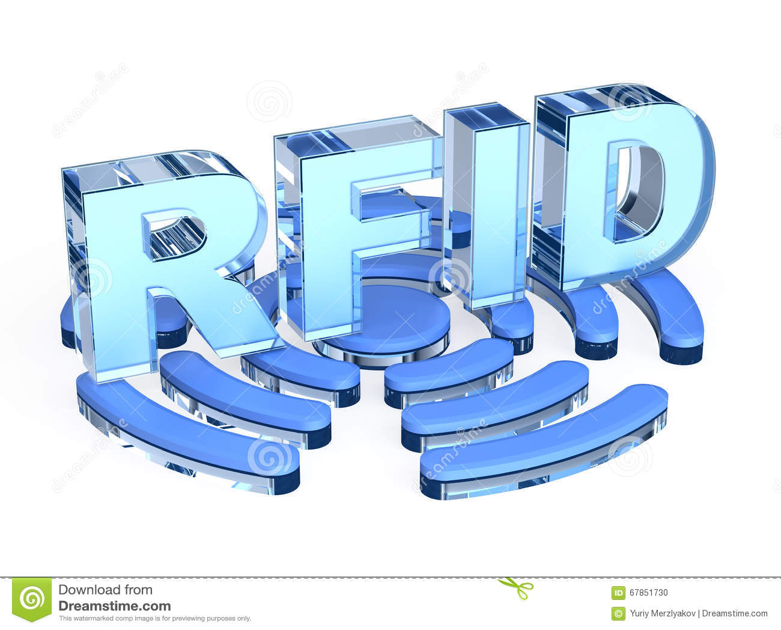 Muestra de la tecnología del RFID
