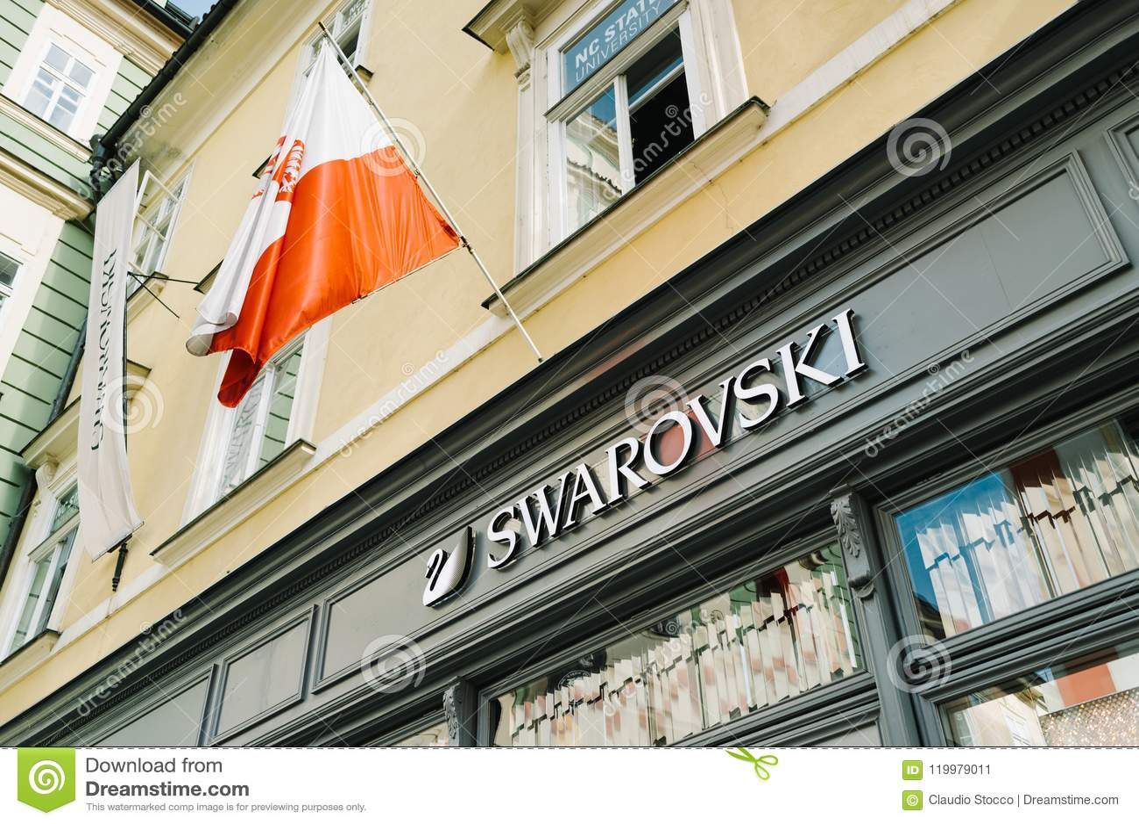 Muestra de la tienda de Swarovski de las tenencias del International de Swarovski