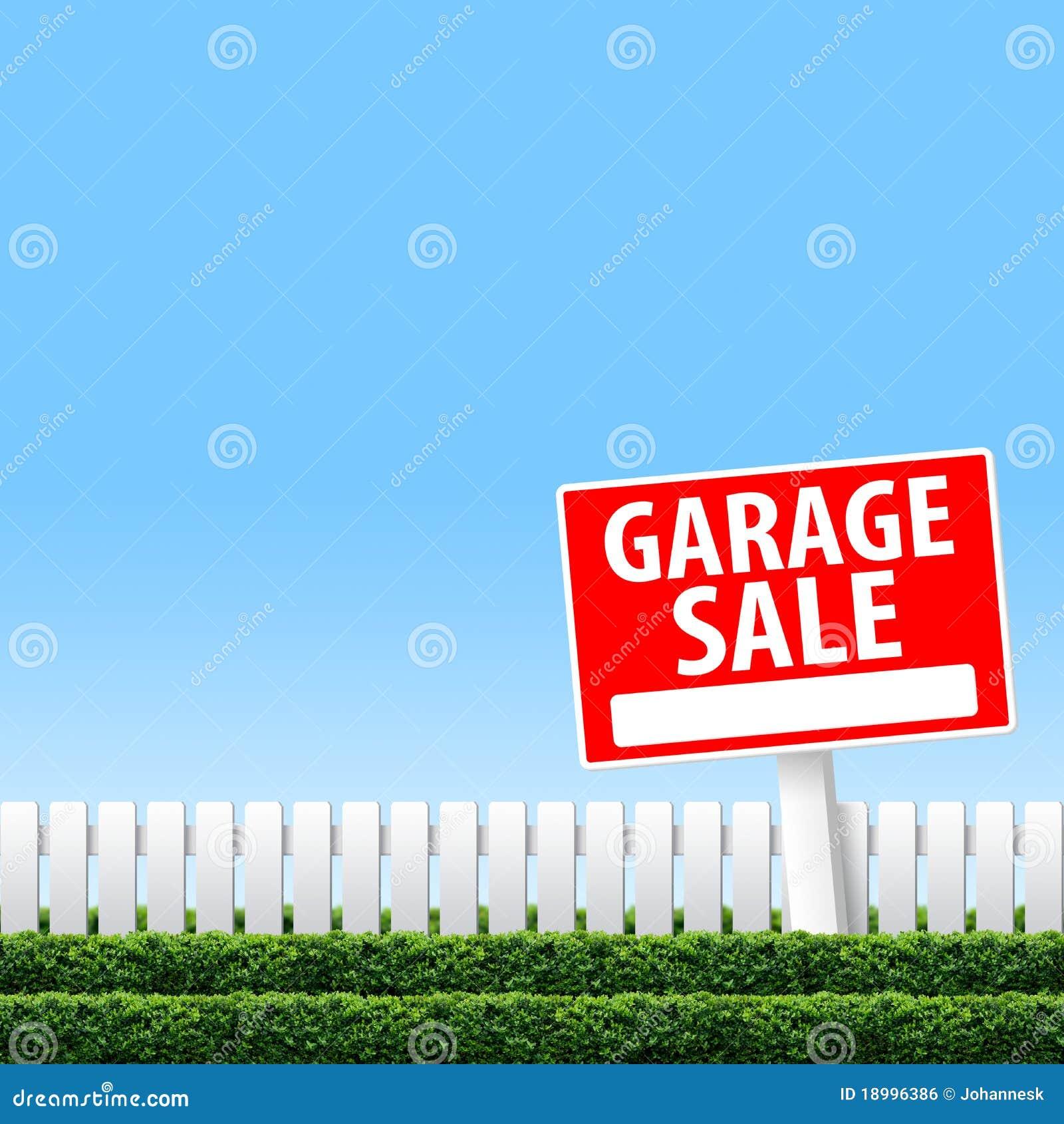 Desperdicios De La Venta De Garage Stock de ilustración ...