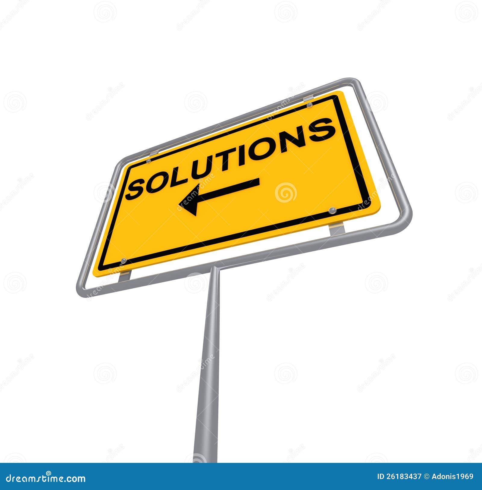 Muestra de las soluciones