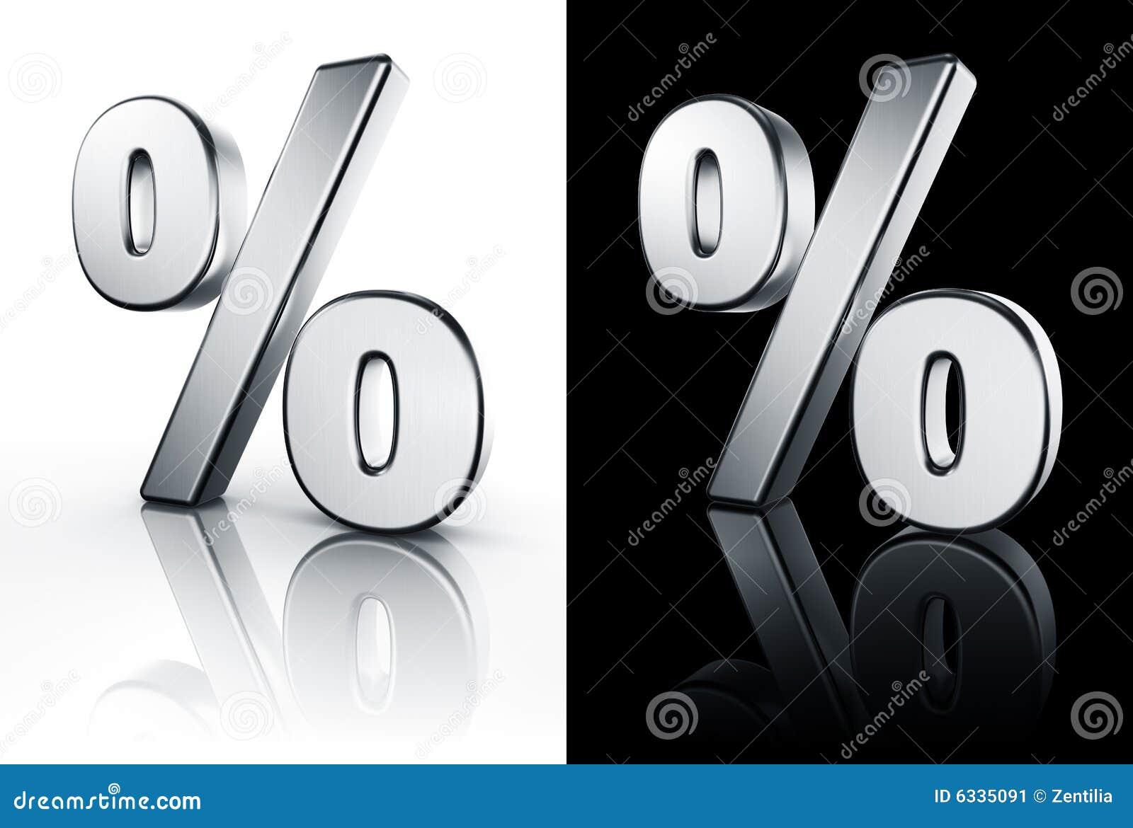 Muestra de porcentaje en el suelo blanco y negro imagen de for Suelo 3d blanco
