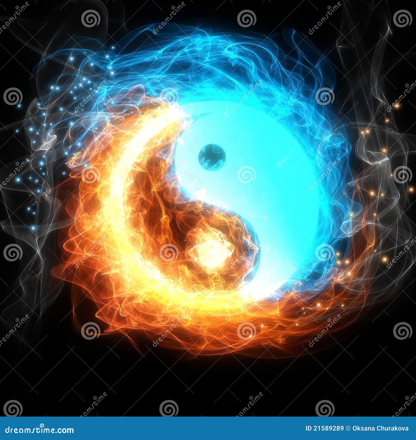Muestra de Yin yang