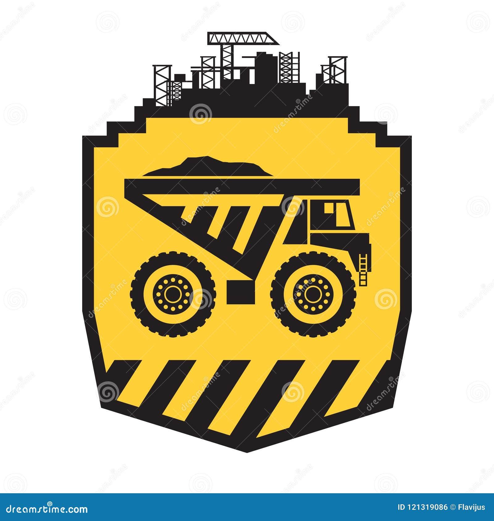 Muestra del camión volquete