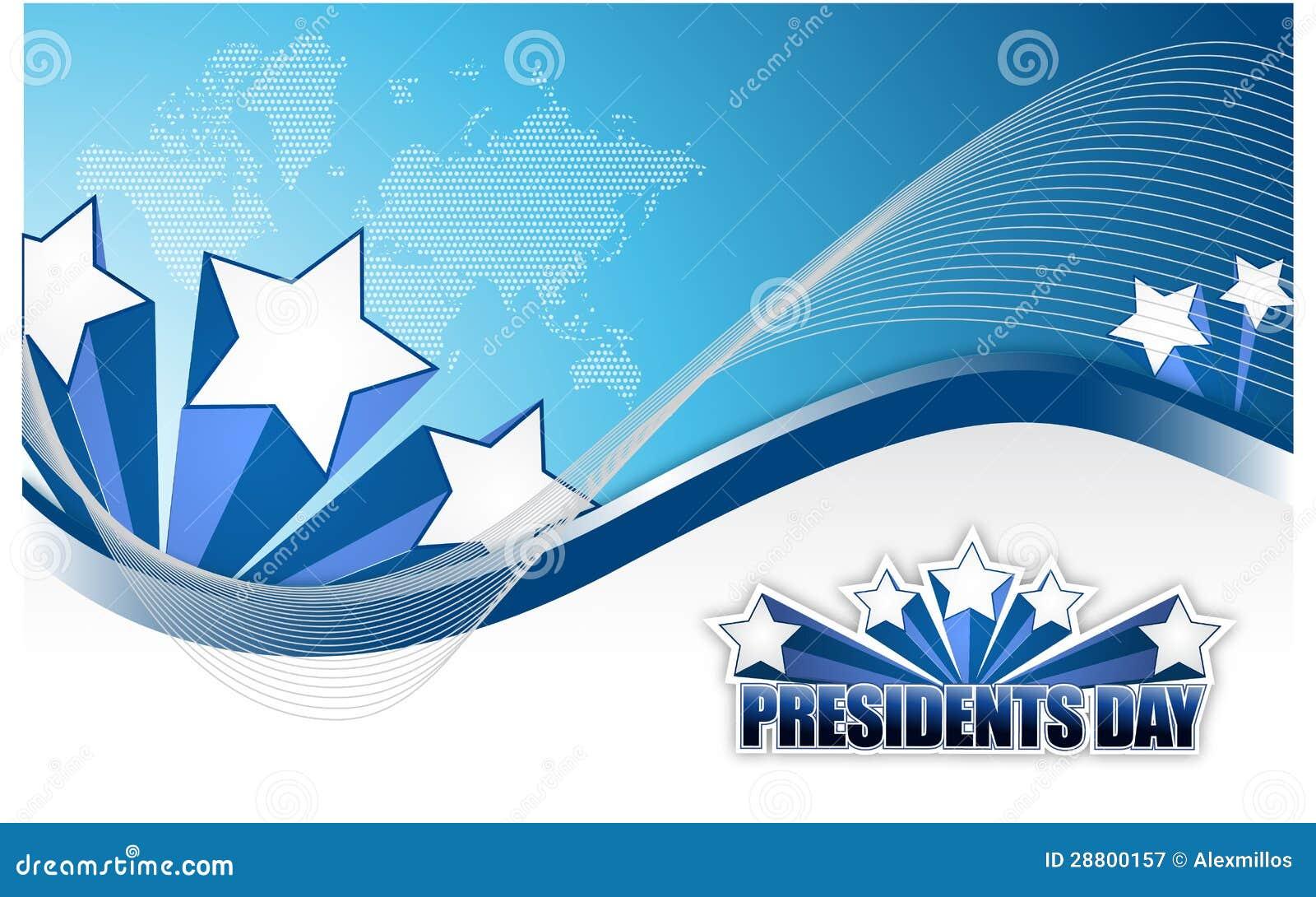 Muestra del día de los presidentes