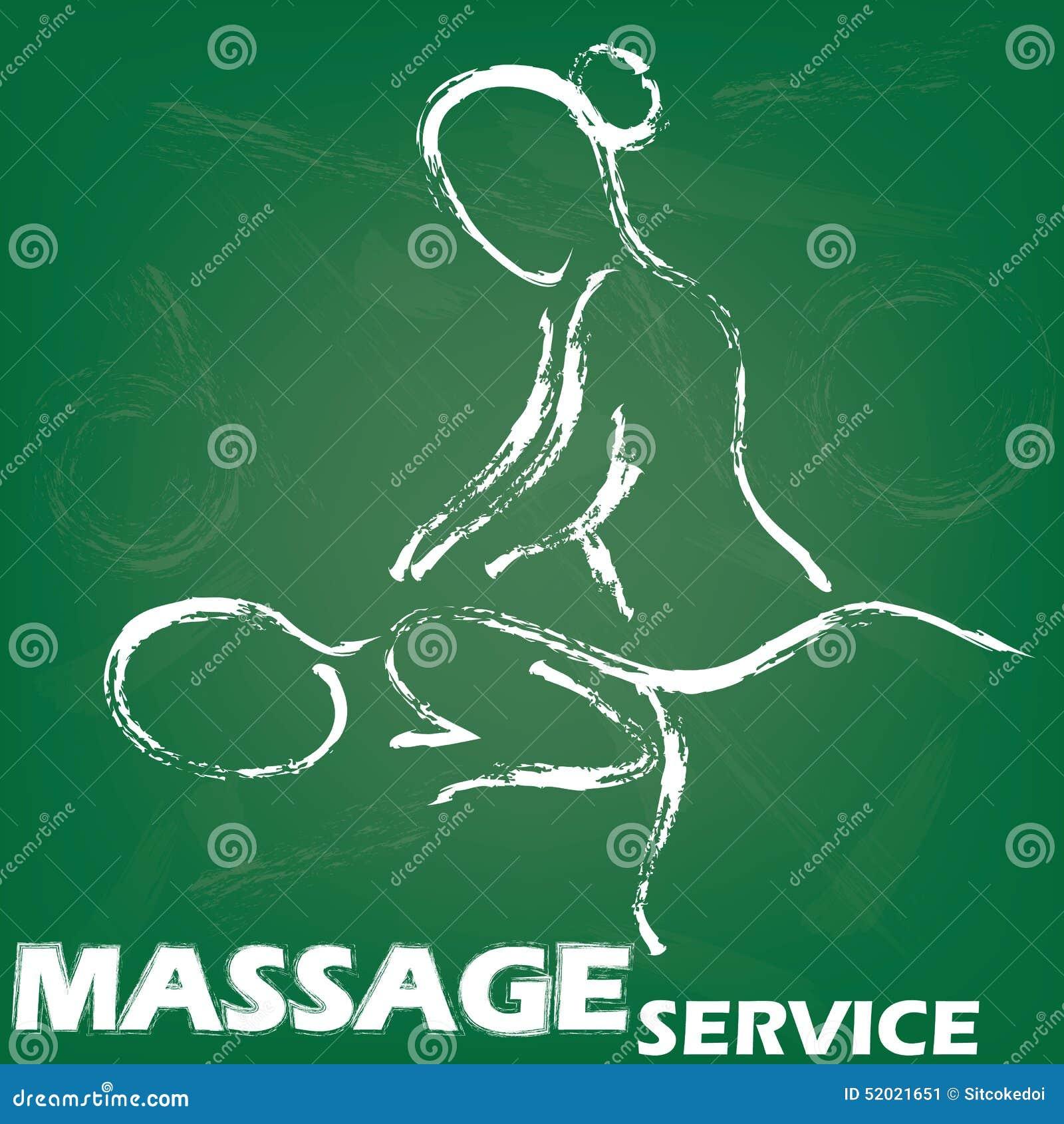 Muestra del masaje