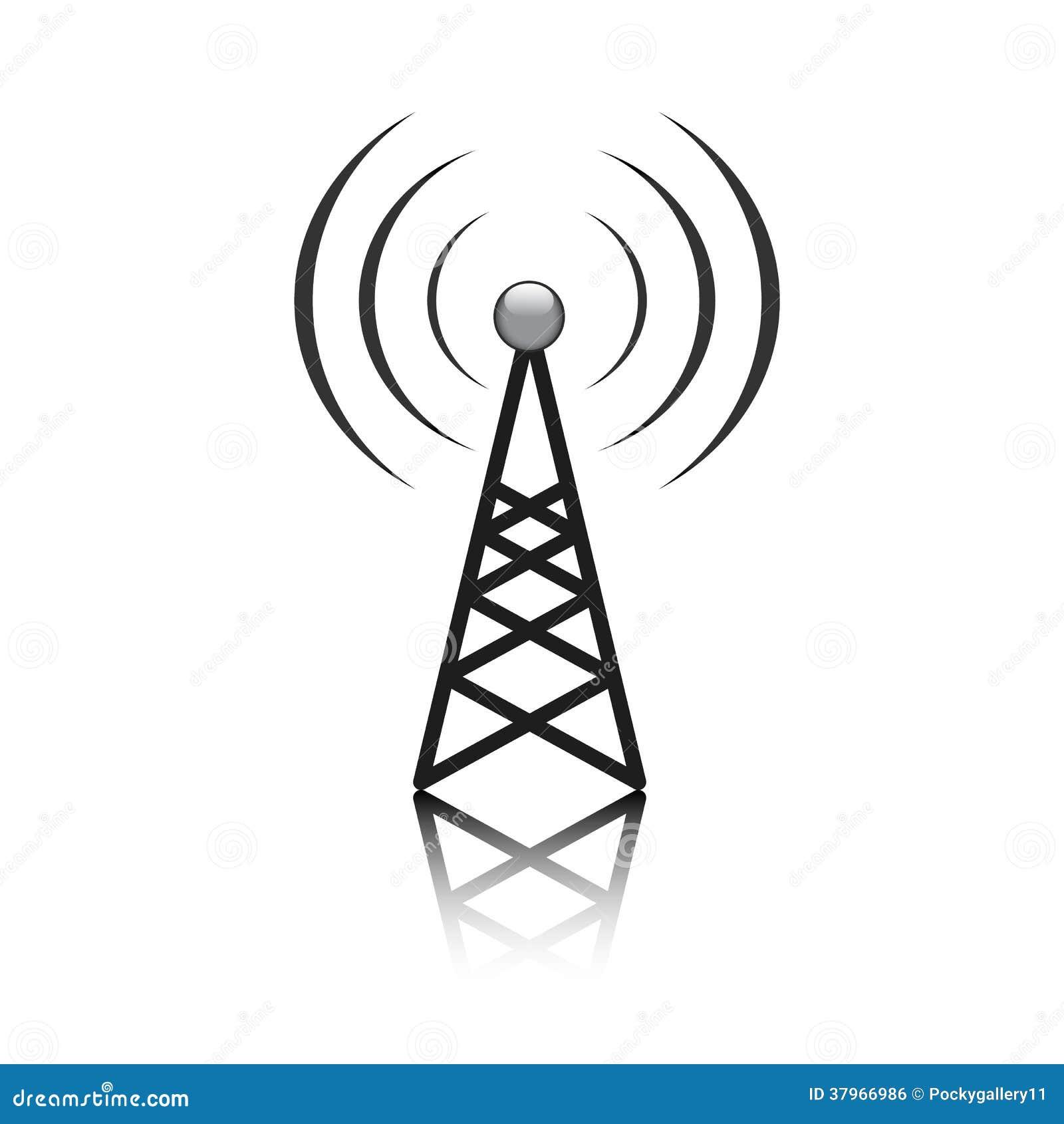 Muestra del palo de la antena
