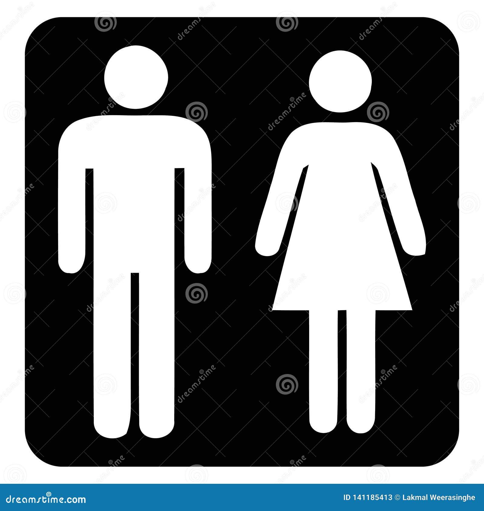 Muestra del servicio y del lavabo