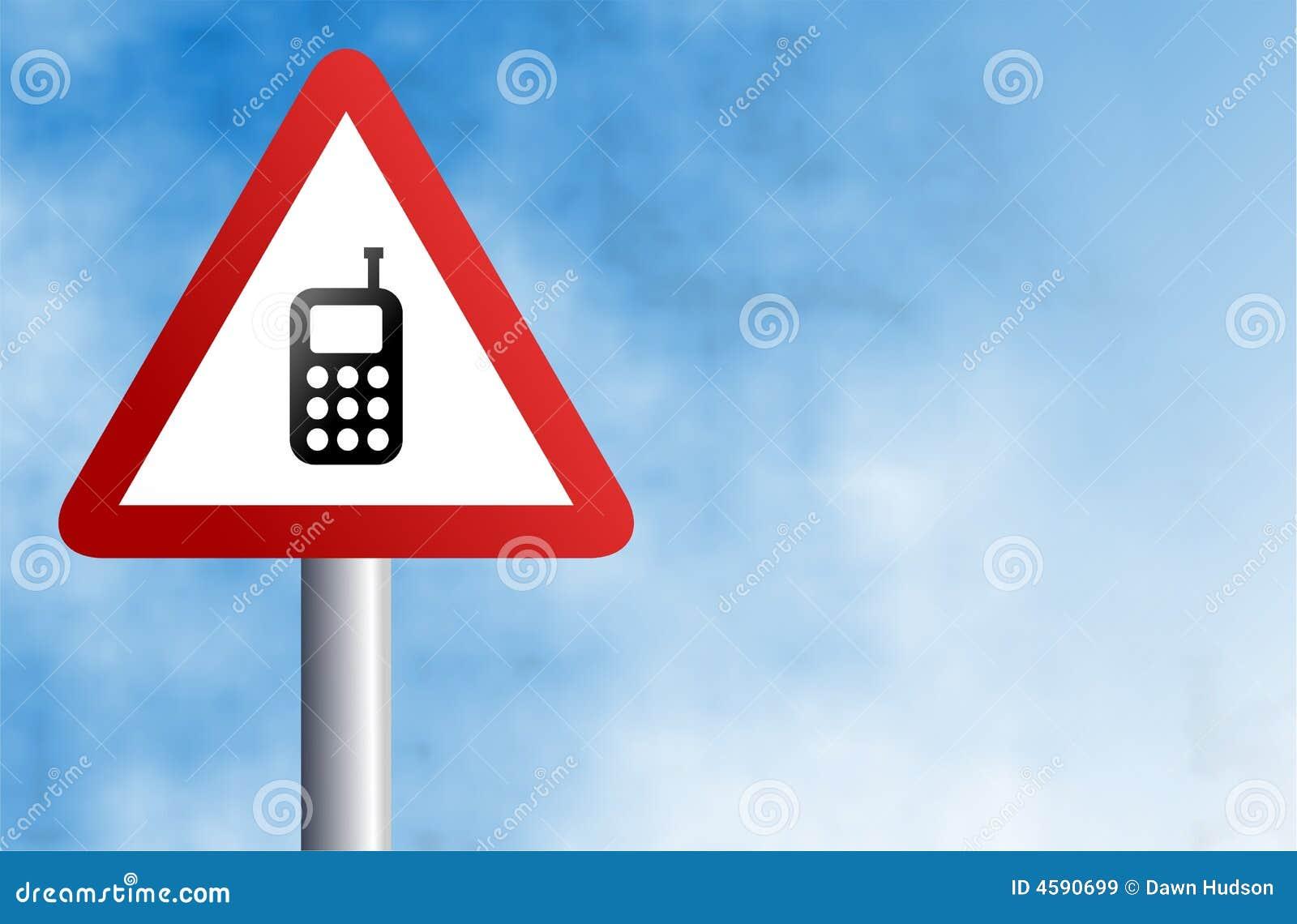 Muestra del teléfono móvil