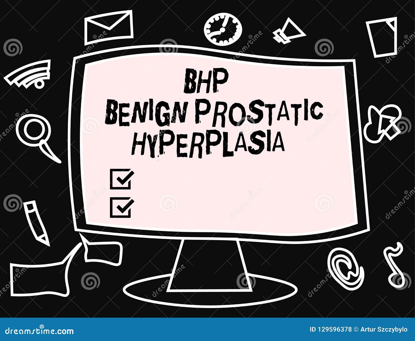 ¿qué es el agrandamiento benigno de la próstata letra