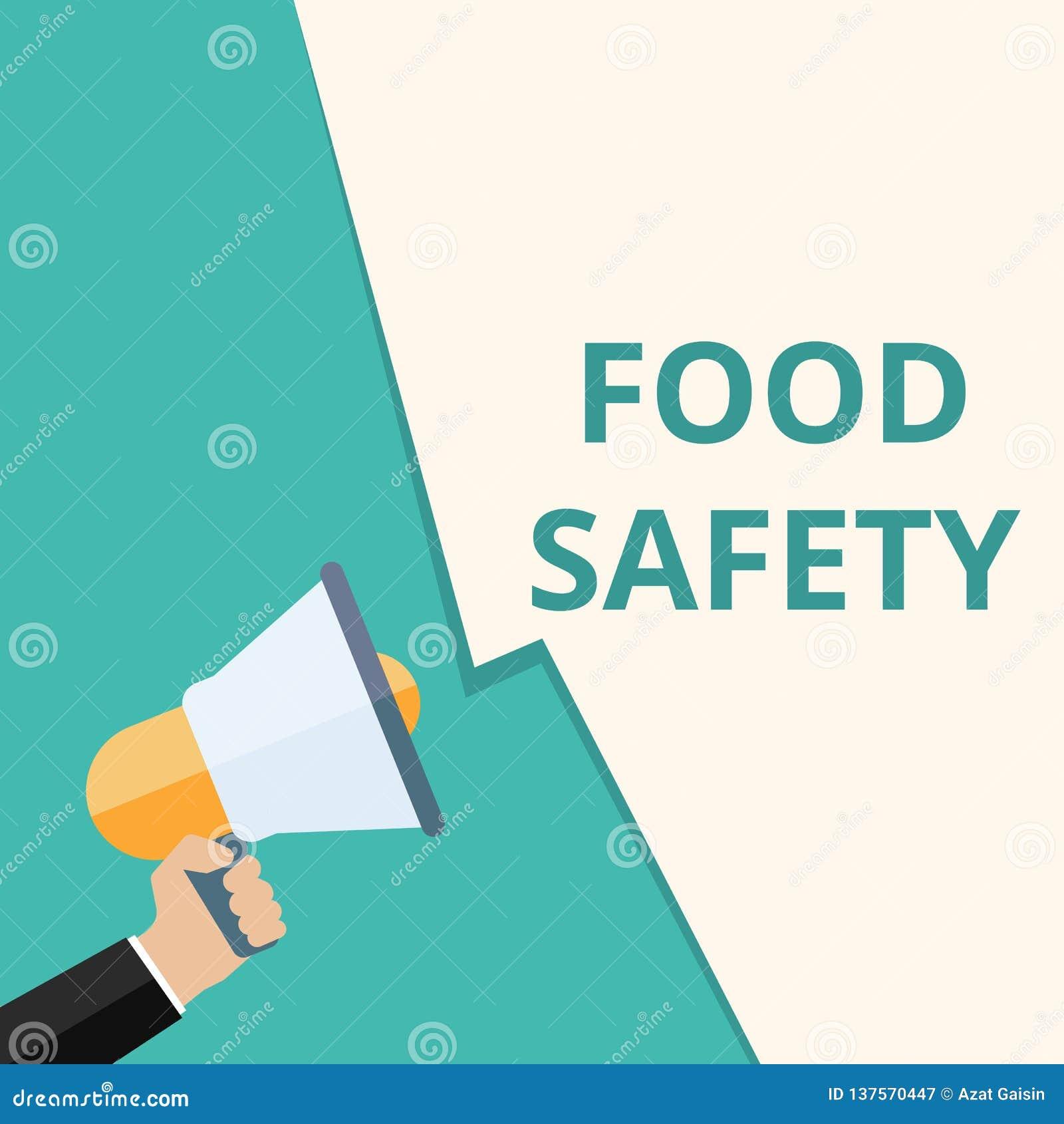 Muestra del texto que muestra seguridad alimentaria