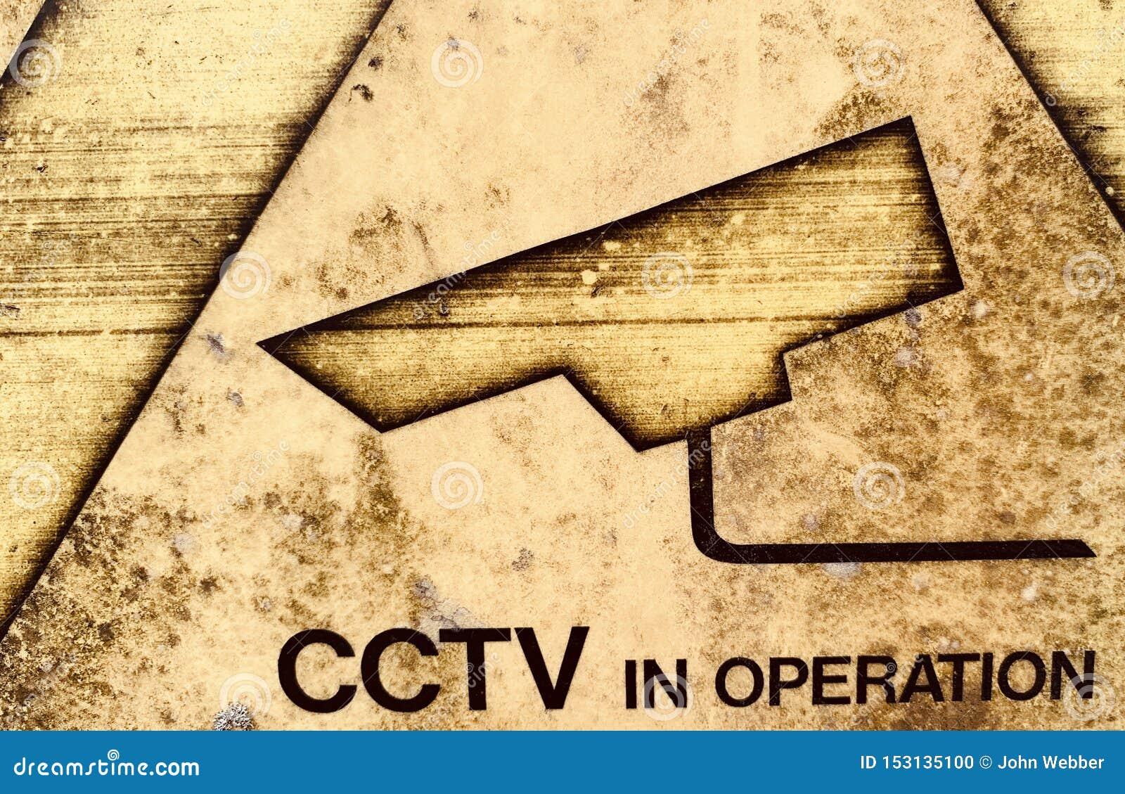 Muestra en funcionamiento resistida del CCTV