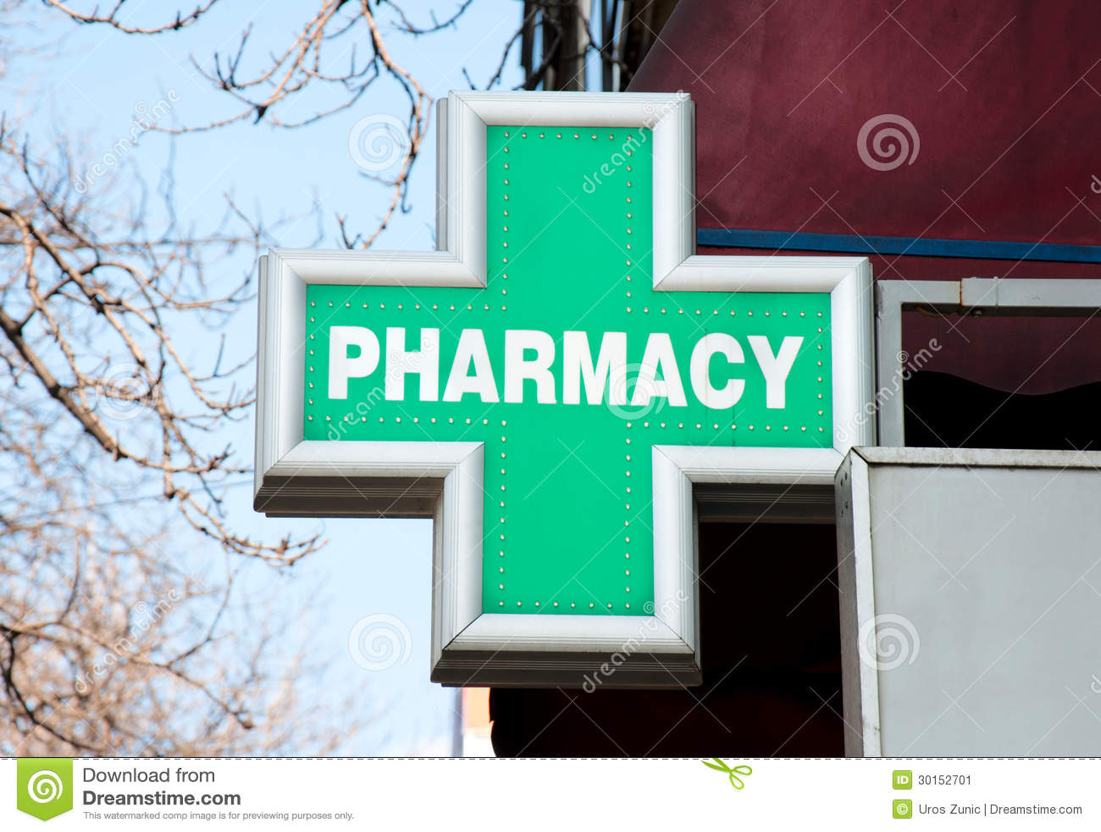 Muestra de la farmacia