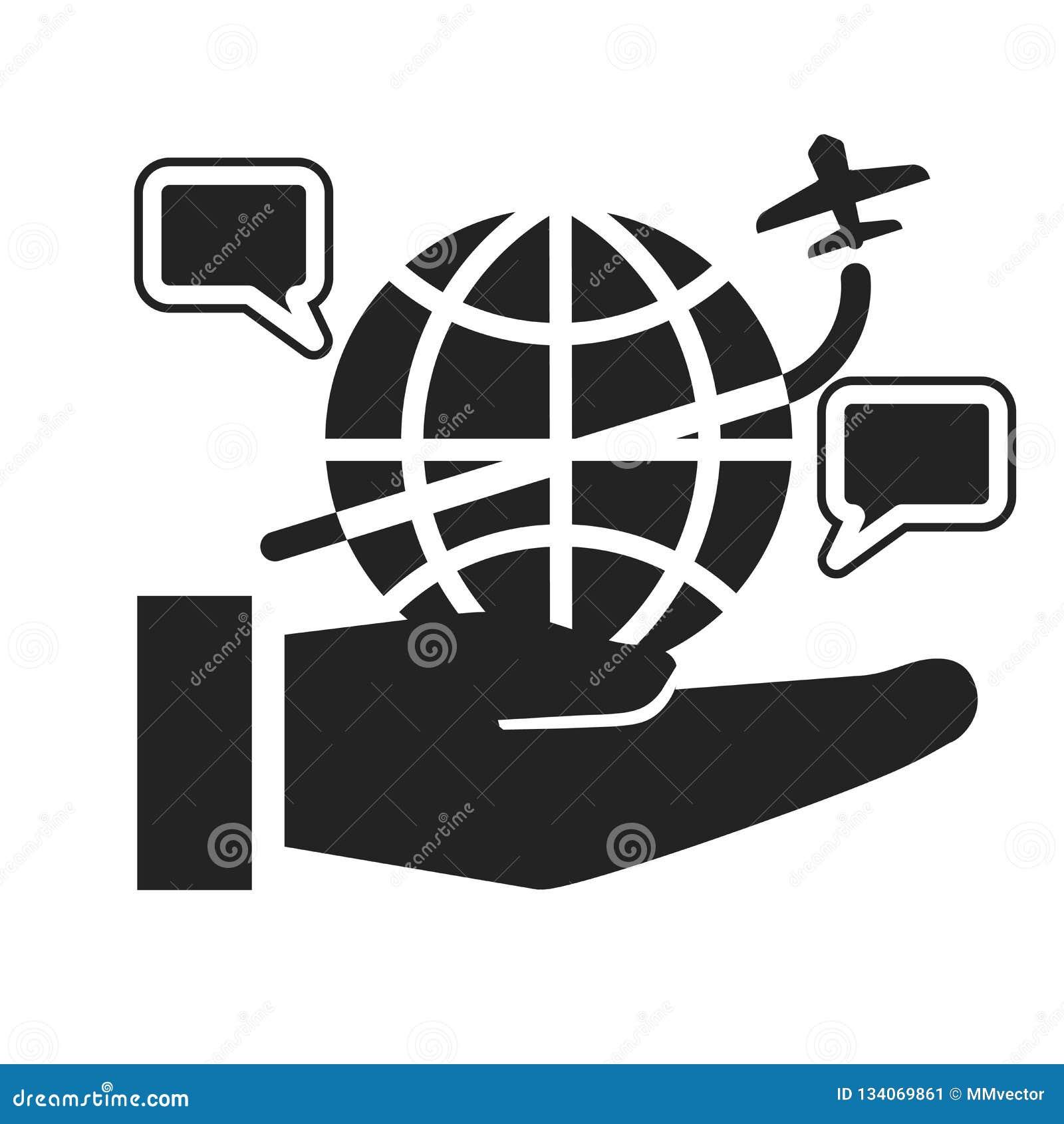 Muestra y símbolo del vector del icono de Internet aislados en el fondo blanco, concepto del logotipo de Internet
