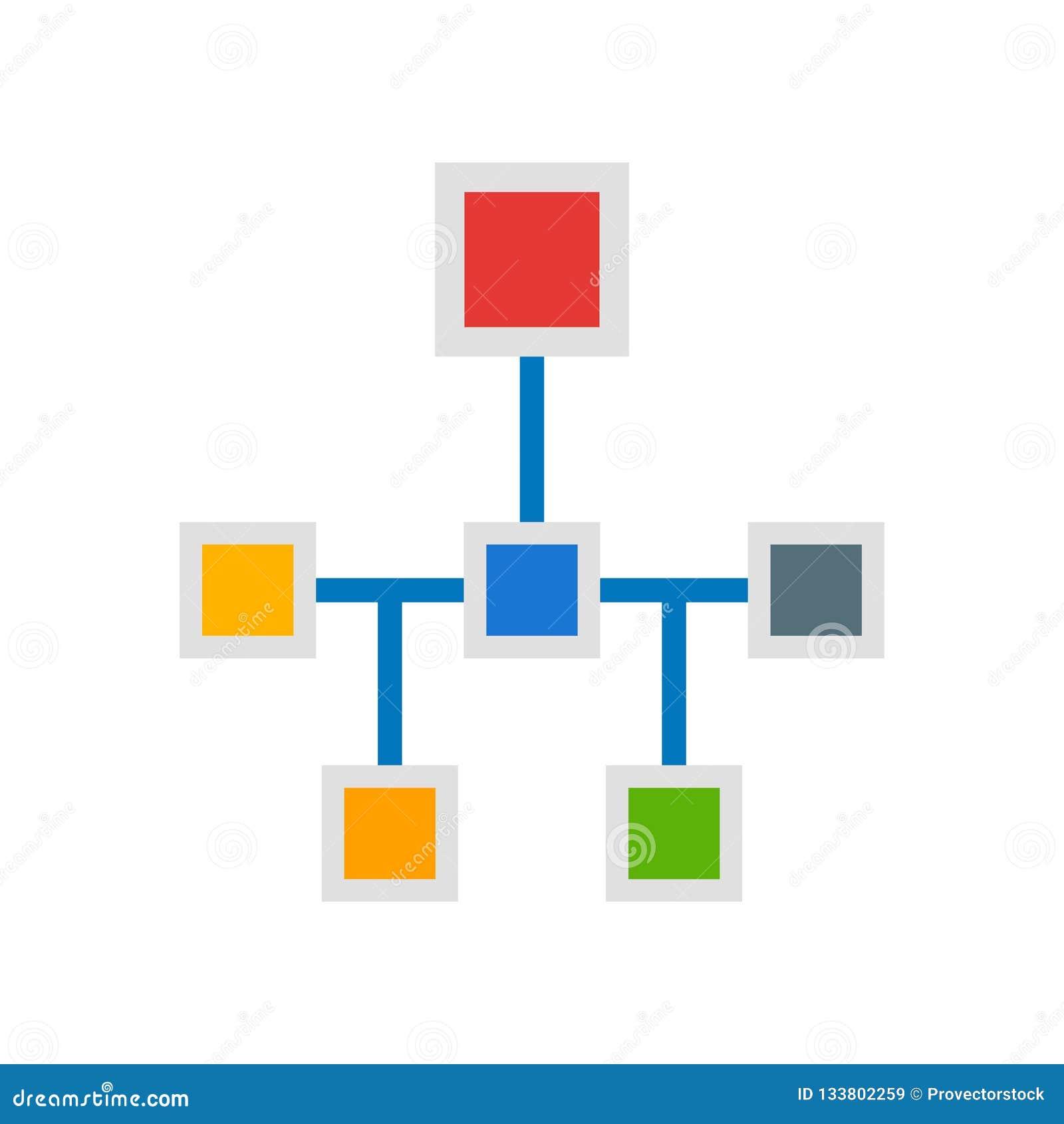 Muestra y símbolo del vector del icono de la estructura aislados en el fondo blanco